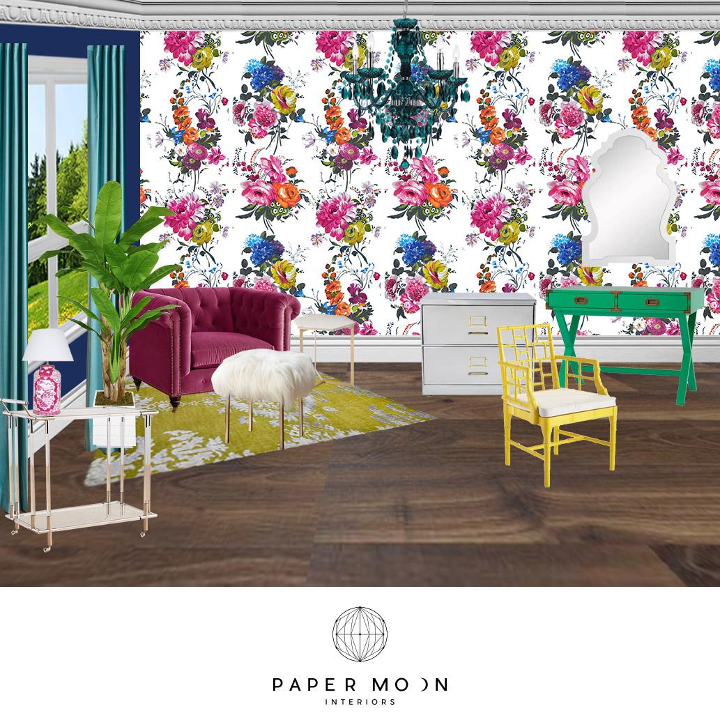 Los Angeles Home Office Interior Design | Online Interior Design Home Office Inspiration