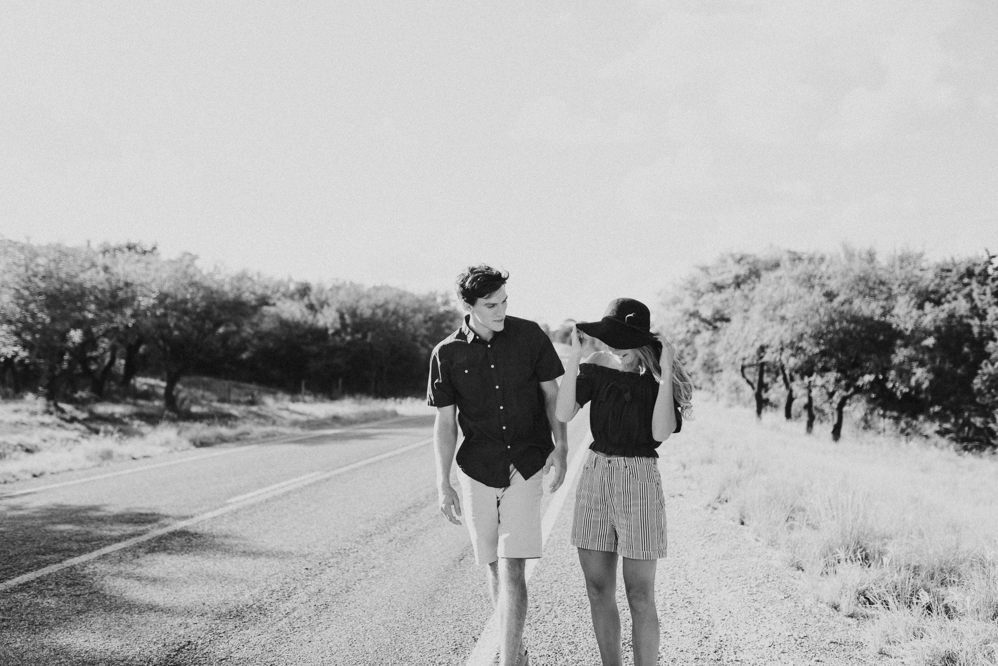Michelle + Aron   Pederbales Falls Texas Engagement  Kristen Giles Photography - 002.jpg