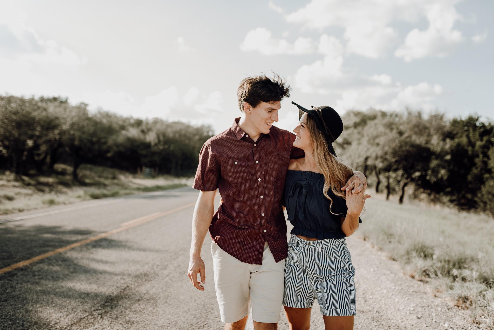 Michelle + Aron   Pederbales Falls Texas Engagement  Kristen Giles Photography - 004.jpg
