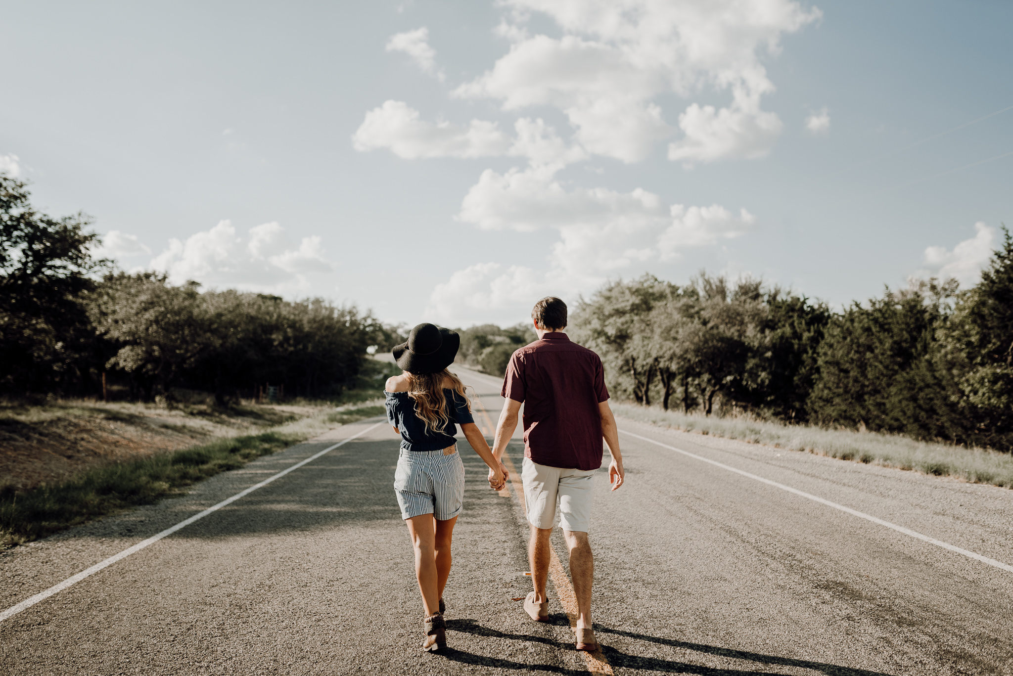 Michelle + Aron   Pederbales Falls Texas Engagement  Kristen Giles Photography - 007.jpg