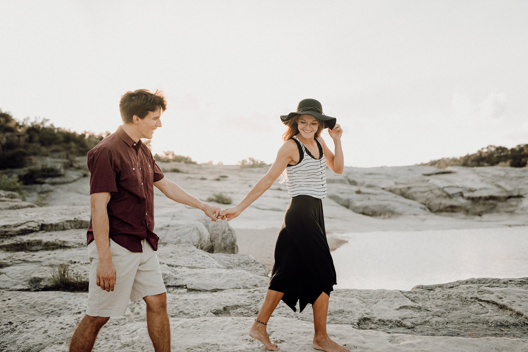 Michelle + Aron | Pederbales Falls Texas Engagement| Kristen Giles Photography - 031.jpg