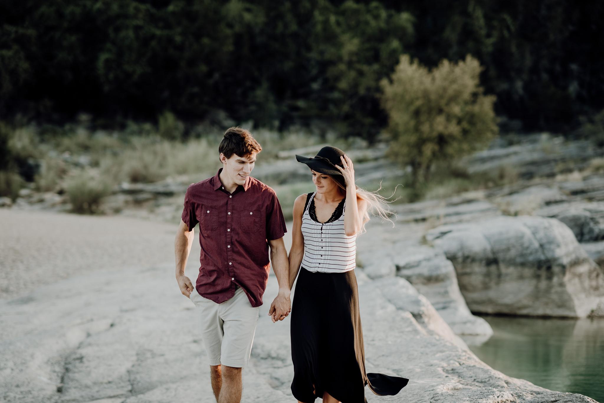 Michelle + Aron   Pederbales Falls Texas Engagement  Kristen Giles Photography - 042.jpg