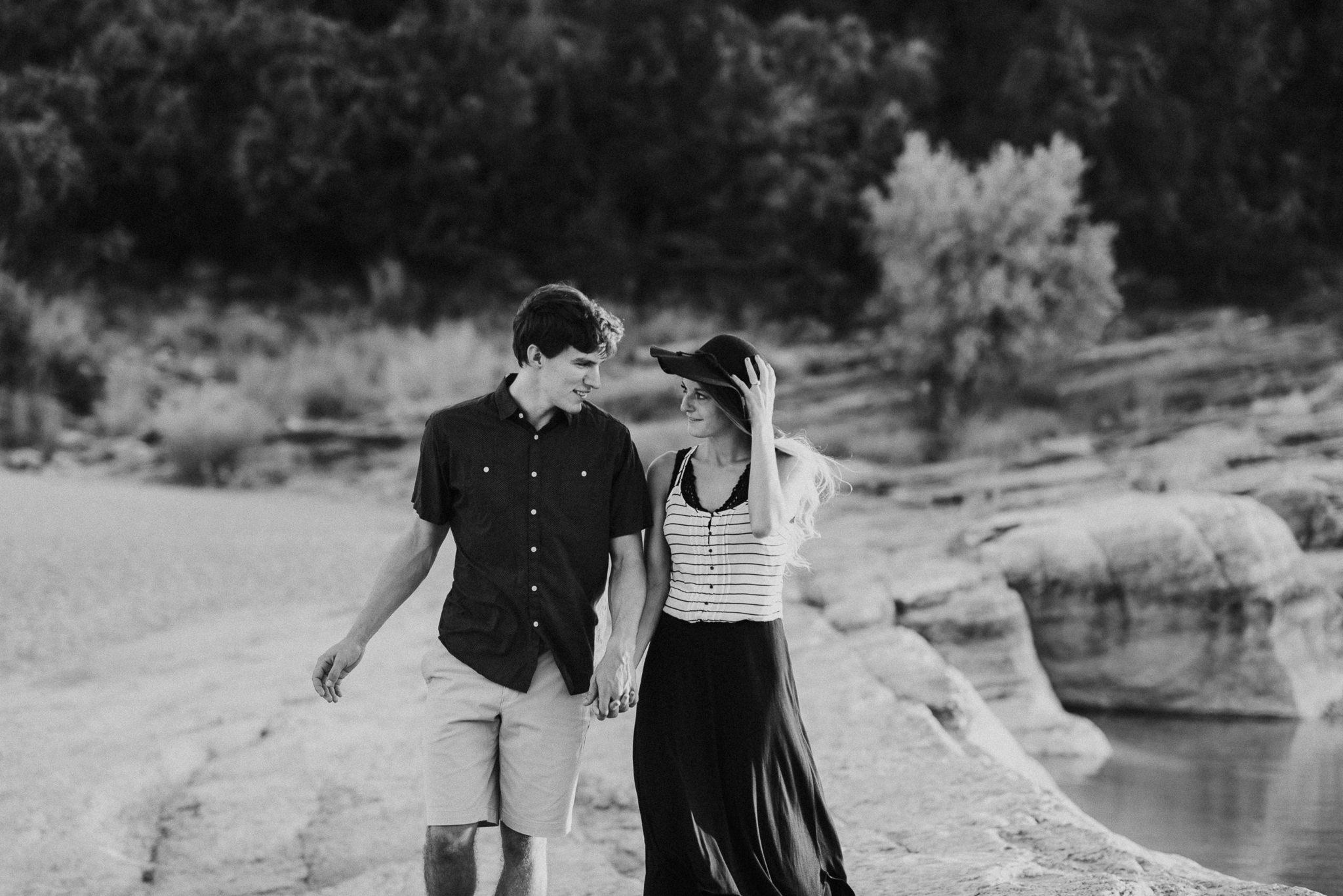 Michelle + Aron   Pederbales Falls Texas Engagement  Kristen Giles Photography - 043.jpg