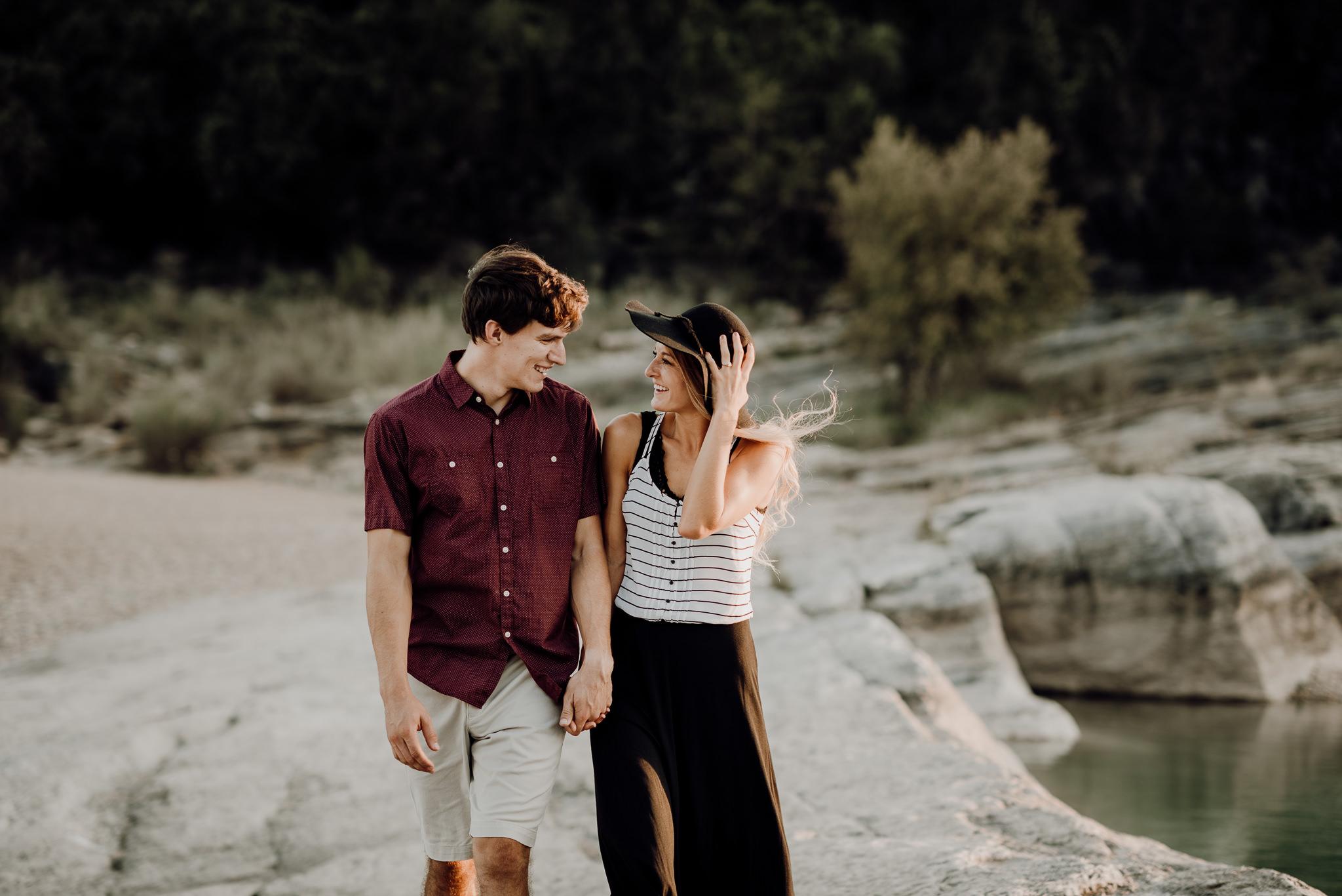 Michelle + Aron   Pederbales Falls Texas Engagement  Kristen Giles Photography - 045.jpg