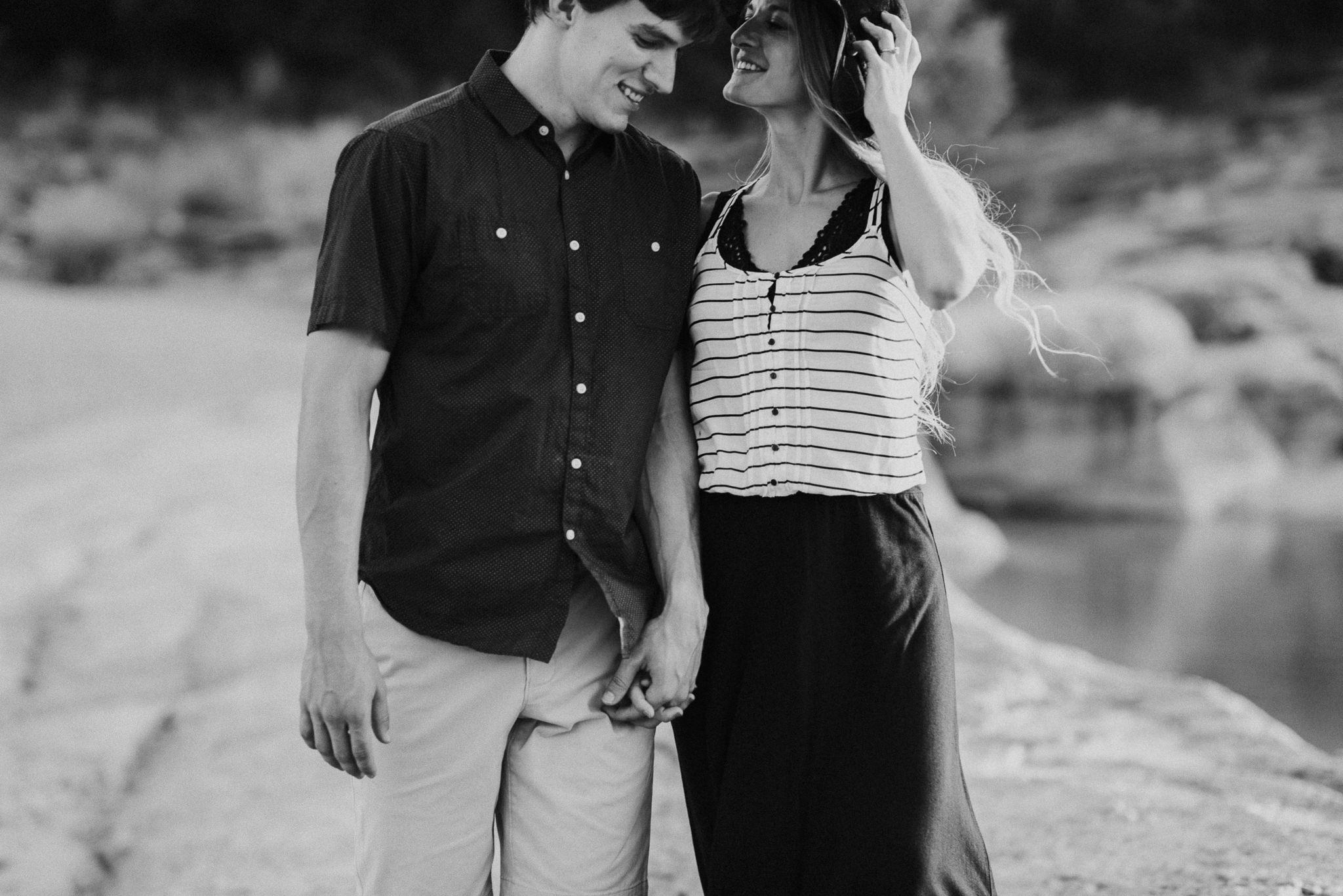 Michelle + Aron   Pederbales Falls Texas Engagement  Kristen Giles Photography - 047.jpg