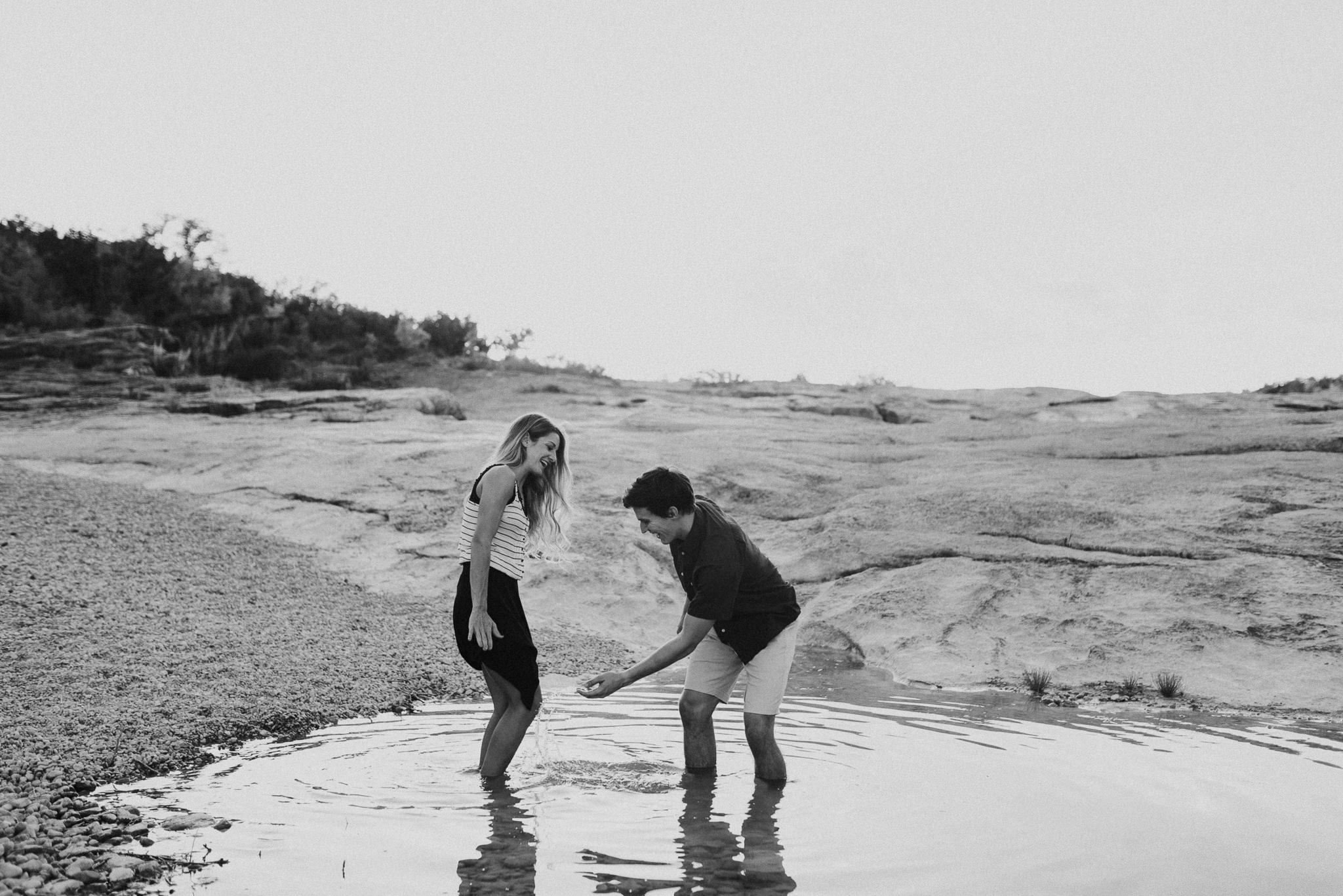 Michelle + Aron   Pederbales Falls Texas Engagement  Kristen Giles Photography - 058.jpg