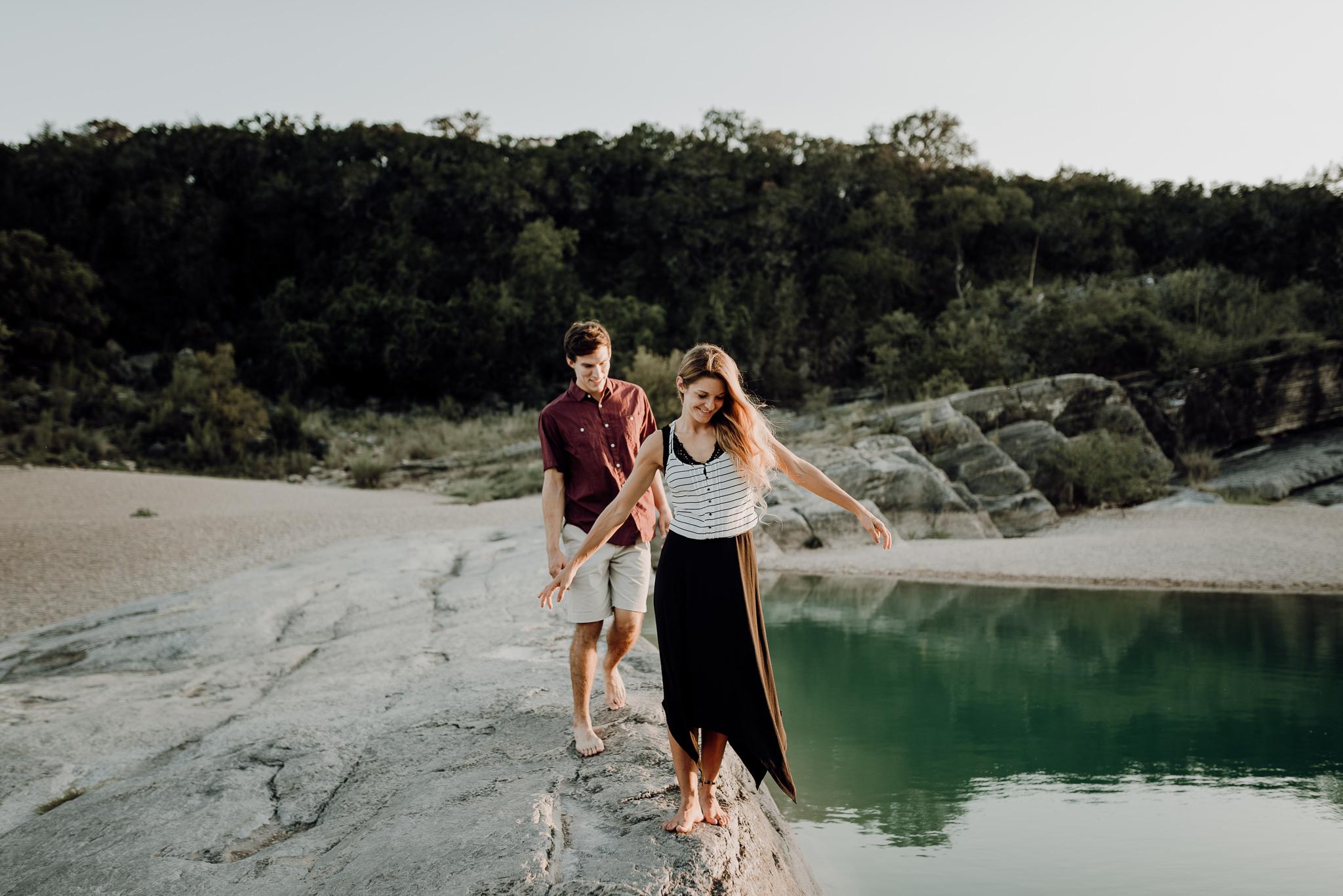 Michelle + Aron | Pederbales Falls Texas Engagement| Kristen Giles Photography - 067.jpg
