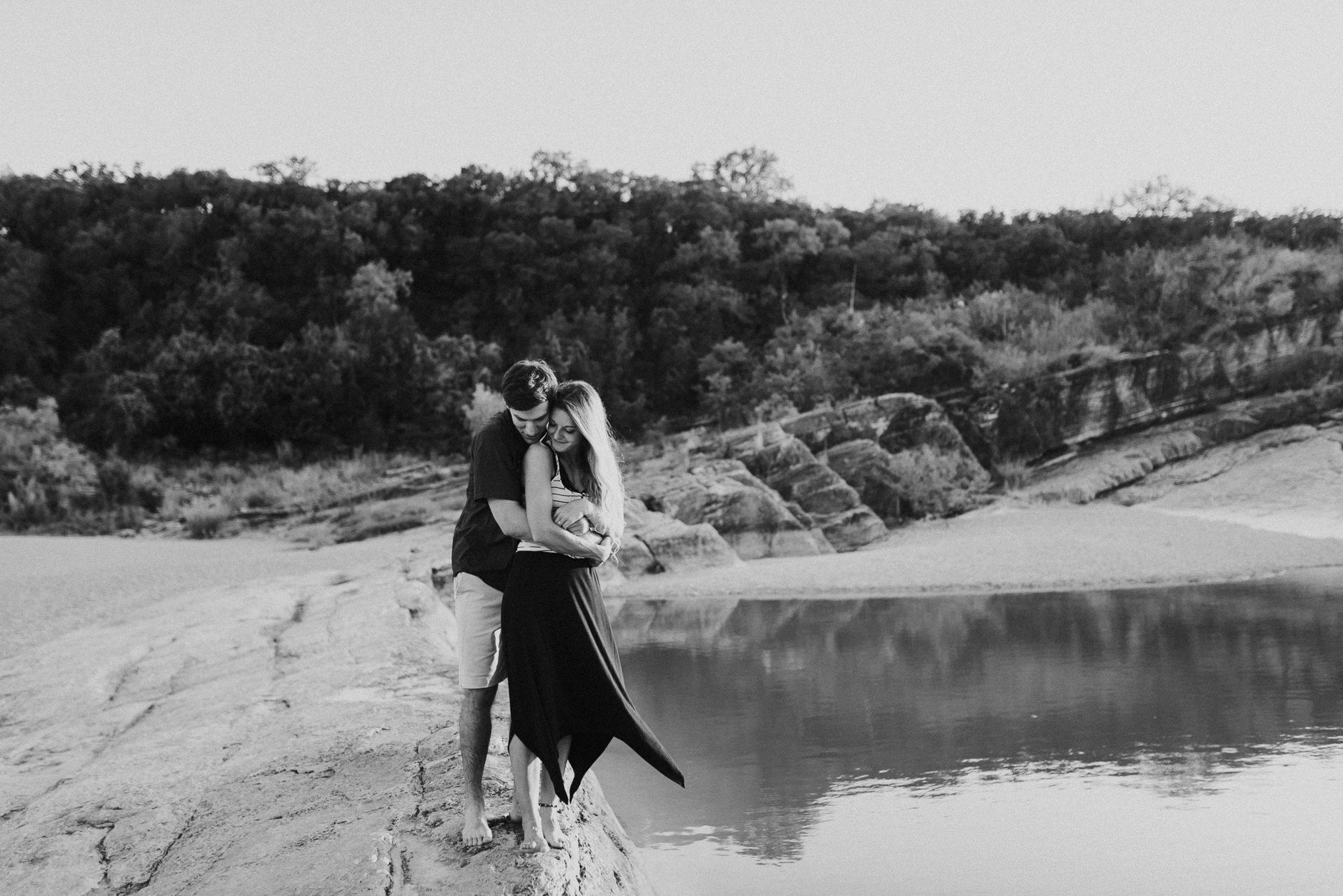Michelle + Aron   Pederbales Falls Texas Engagement  Kristen Giles Photography - 071.jpg