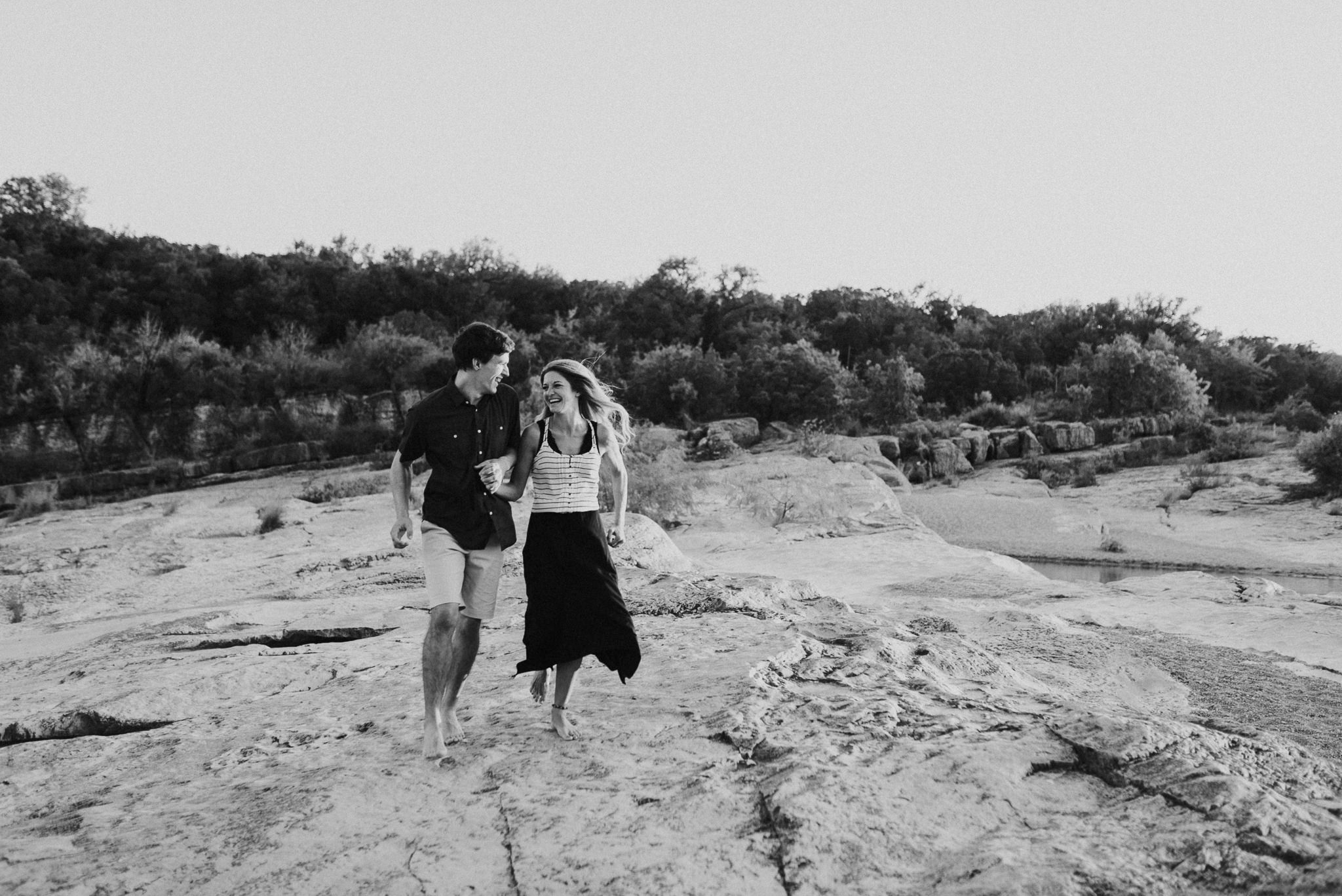 Michelle + Aron   Pederbales Falls Texas Engagement  Kristen Giles Photography - 077.jpg
