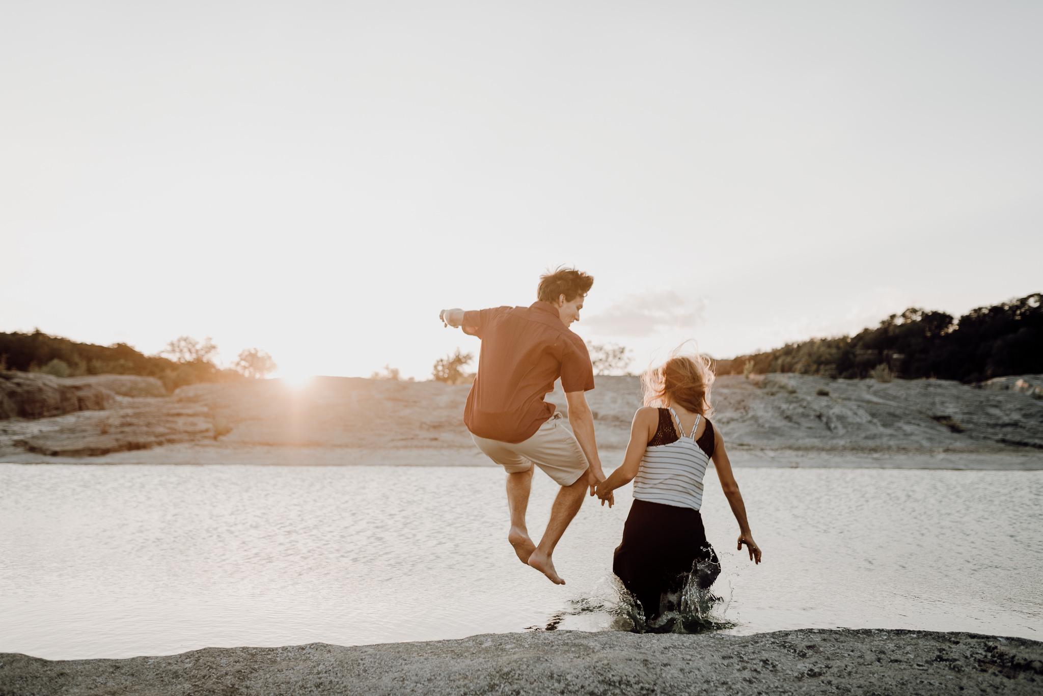 Michelle + Aron | Pederbales Falls Texas Engagement| Kristen Giles Photography - 090.jpg