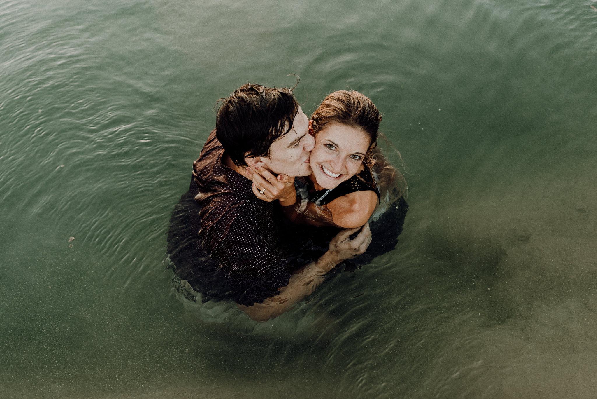 Michelle + Aron   Pederbales Falls Texas Engagement  Kristen Giles Photography - 097.jpg
