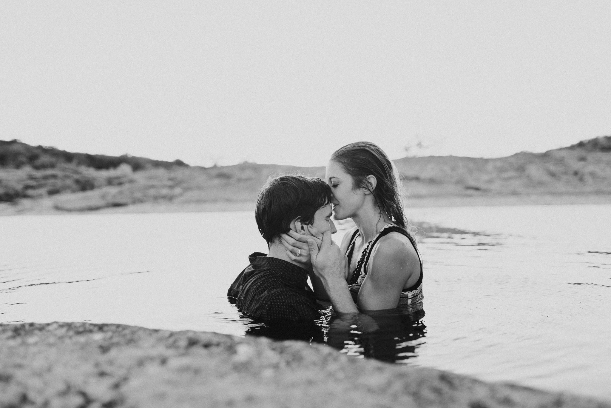 Michelle + Aron   Pederbales Falls Texas Engagement  Kristen Giles Photography - 099.jpg