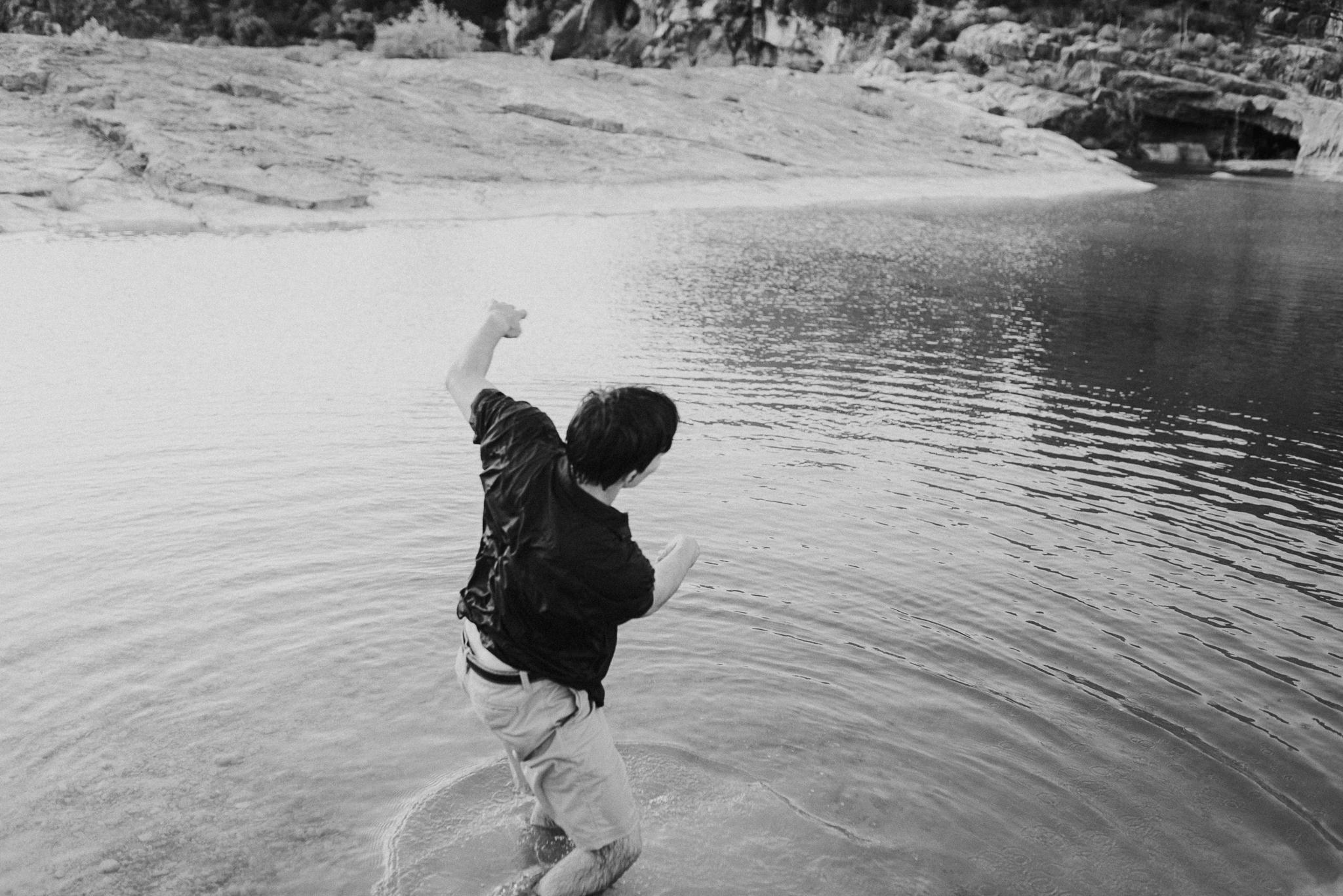 Michelle + Aron | Pederbales Falls Texas Engagement| Kristen Giles Photography - 114.jpg
