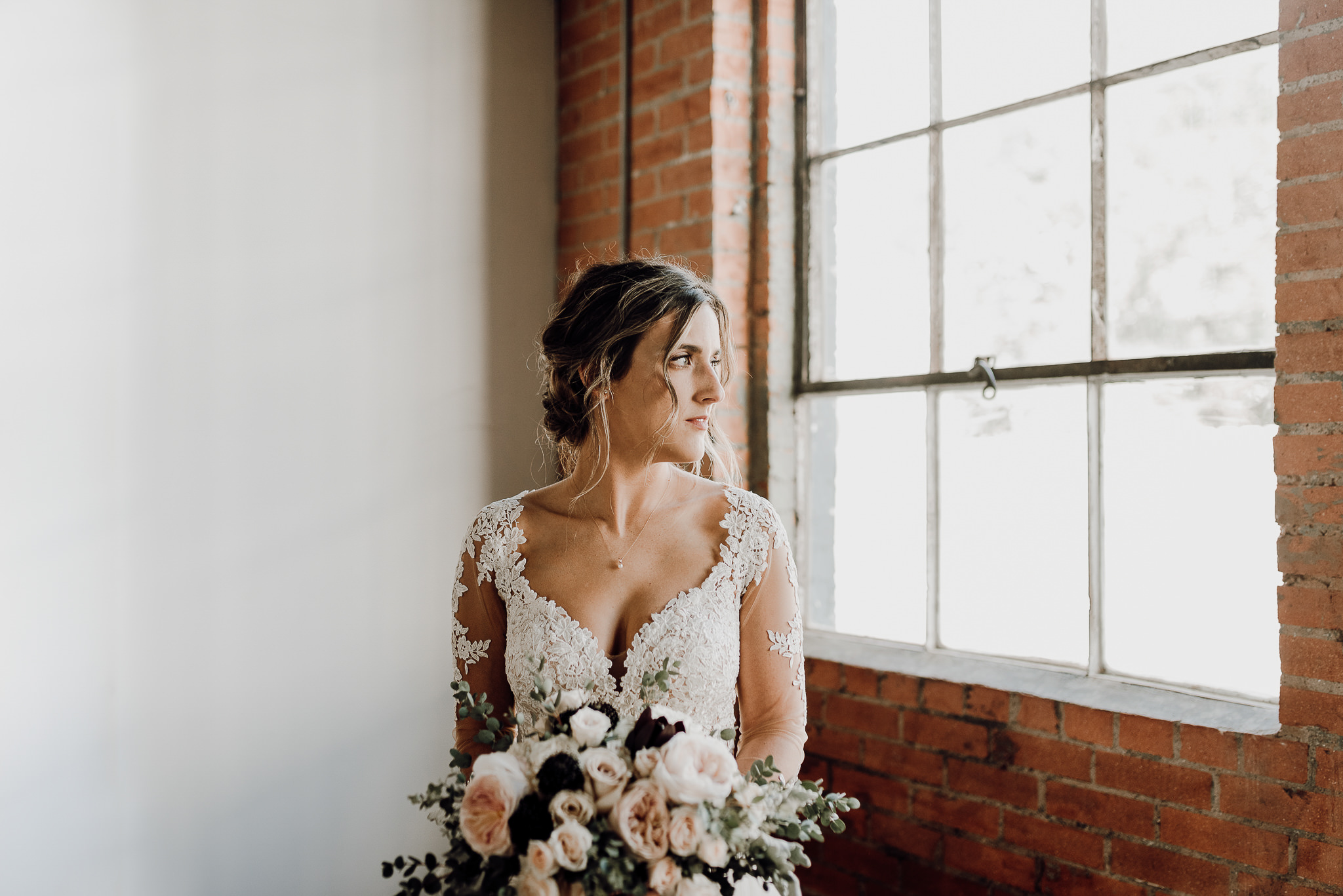 Denton Texas Industrial Romantic Bride- Houston Wedding Photographer -Kristen Giles Photography-3.jpg
