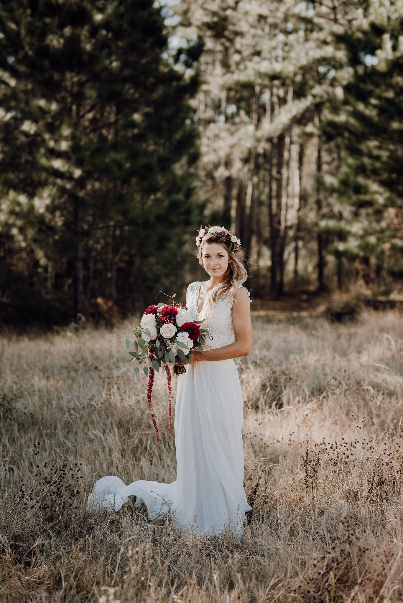 Michelle + Aron-Houston Wedding Photographer-Magnolia Meadows-Winter Wedding | Kristen Giles Photography - 020.jpg