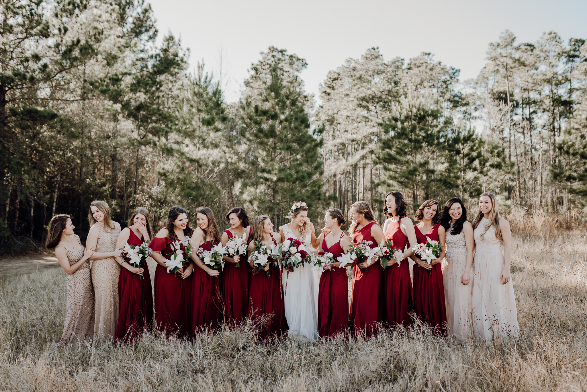 Michelle + Aron-Houston Wedding Photographer-Magnolia Meadows-Winter Wedding | Kristen Giles Photography - 024.jpg
