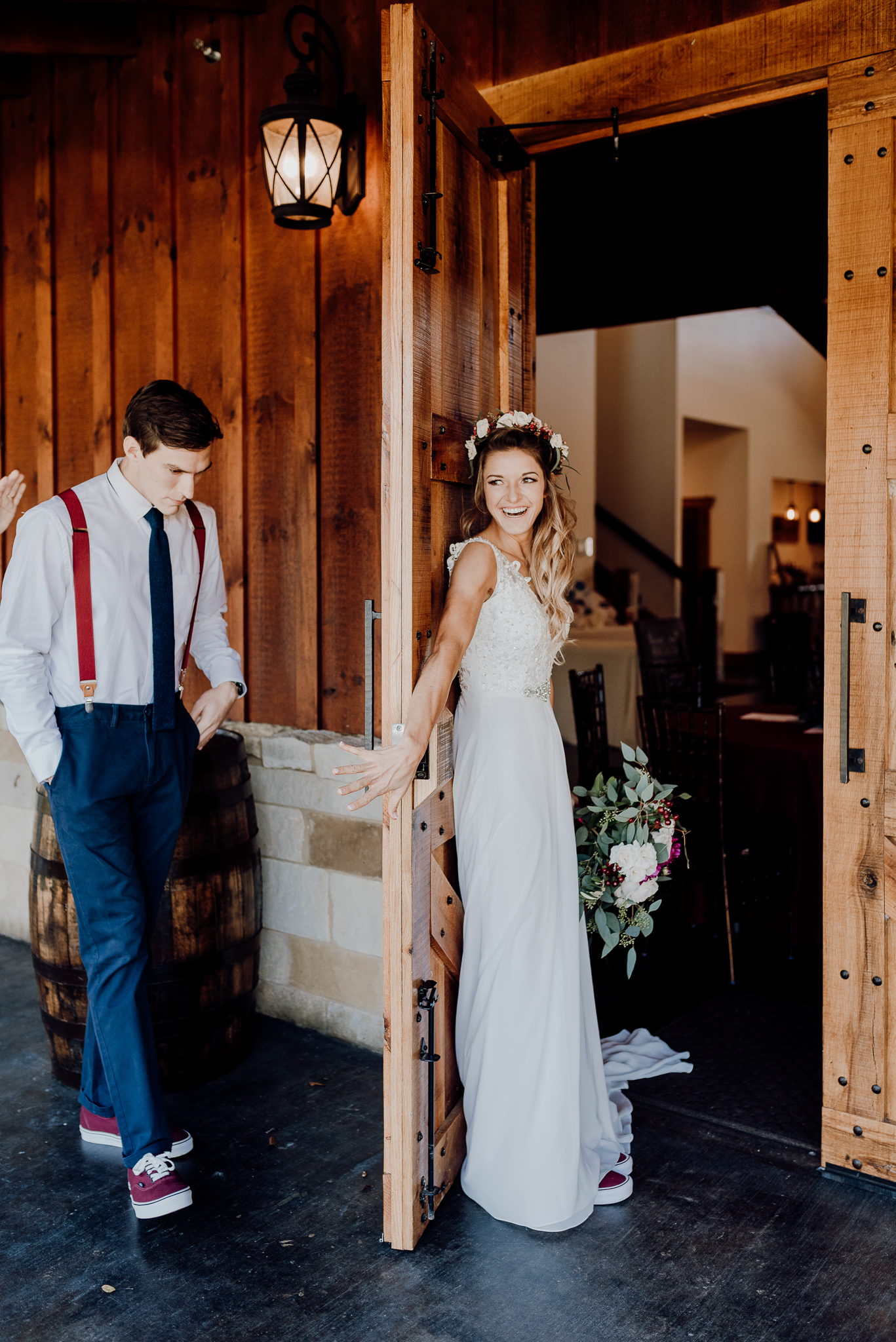 Michelle + Aron-Houston Wedding Photographer-Magnolia Meadows-Winter Wedding | Kristen Giles Photography - 028.jpg