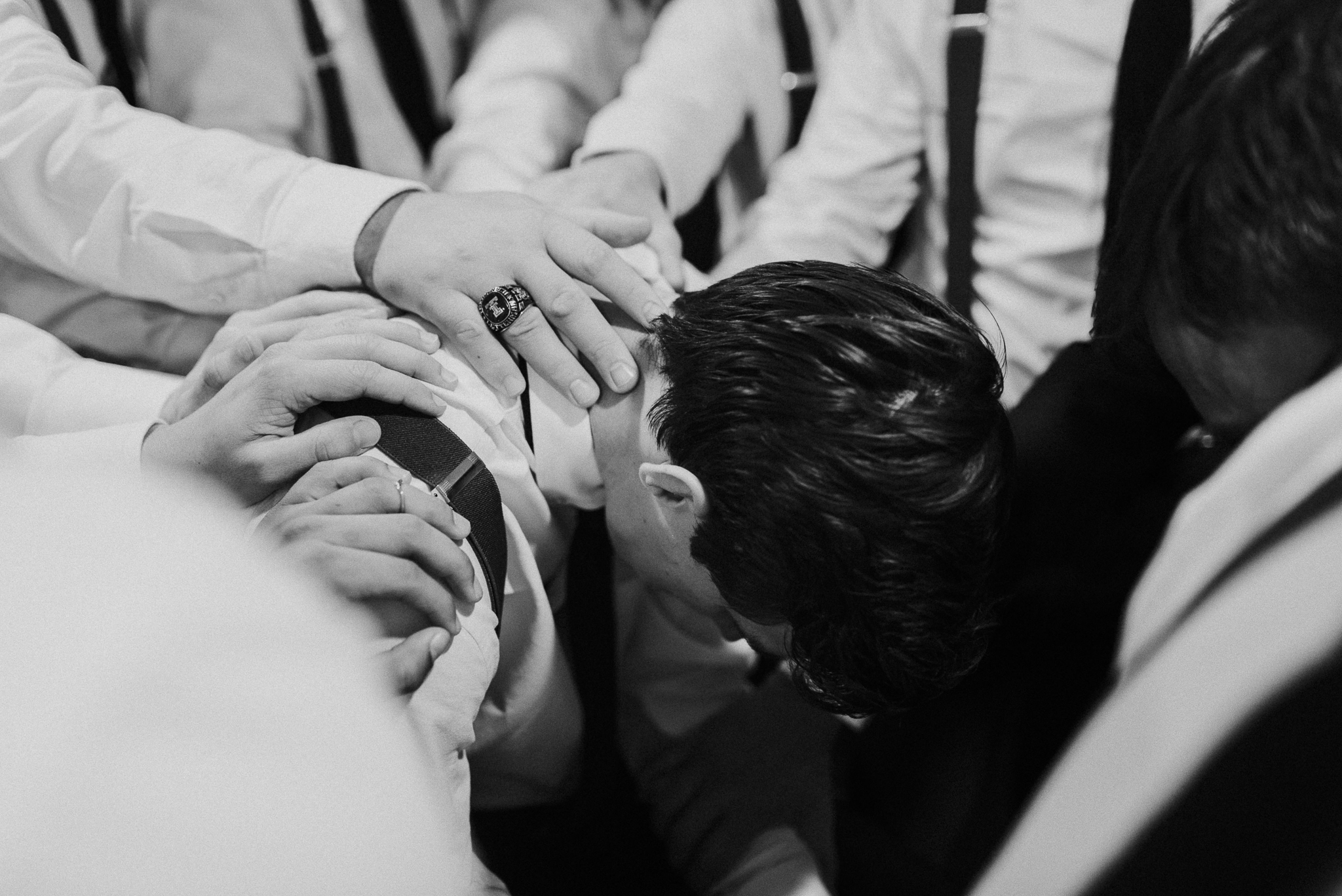 Michelle + Aron-Houston Wedding Photographer-Magnolia Meadows-Winter Wedding | Kristen Giles Photography - 035.jpg