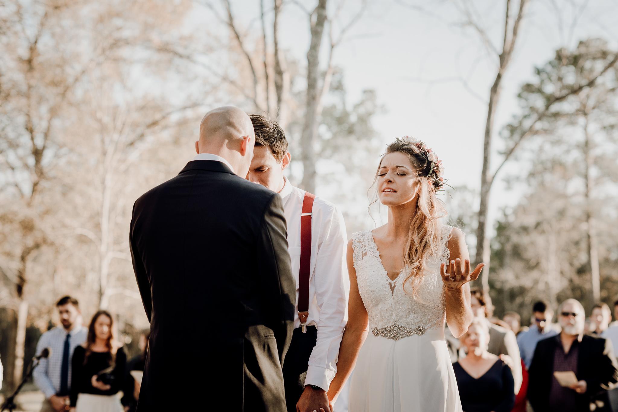 Michelle + Aron-Houston Wedding Photographer-Magnolia Meadows-Winter Wedding | Kristen Giles Photography - 041.jpg