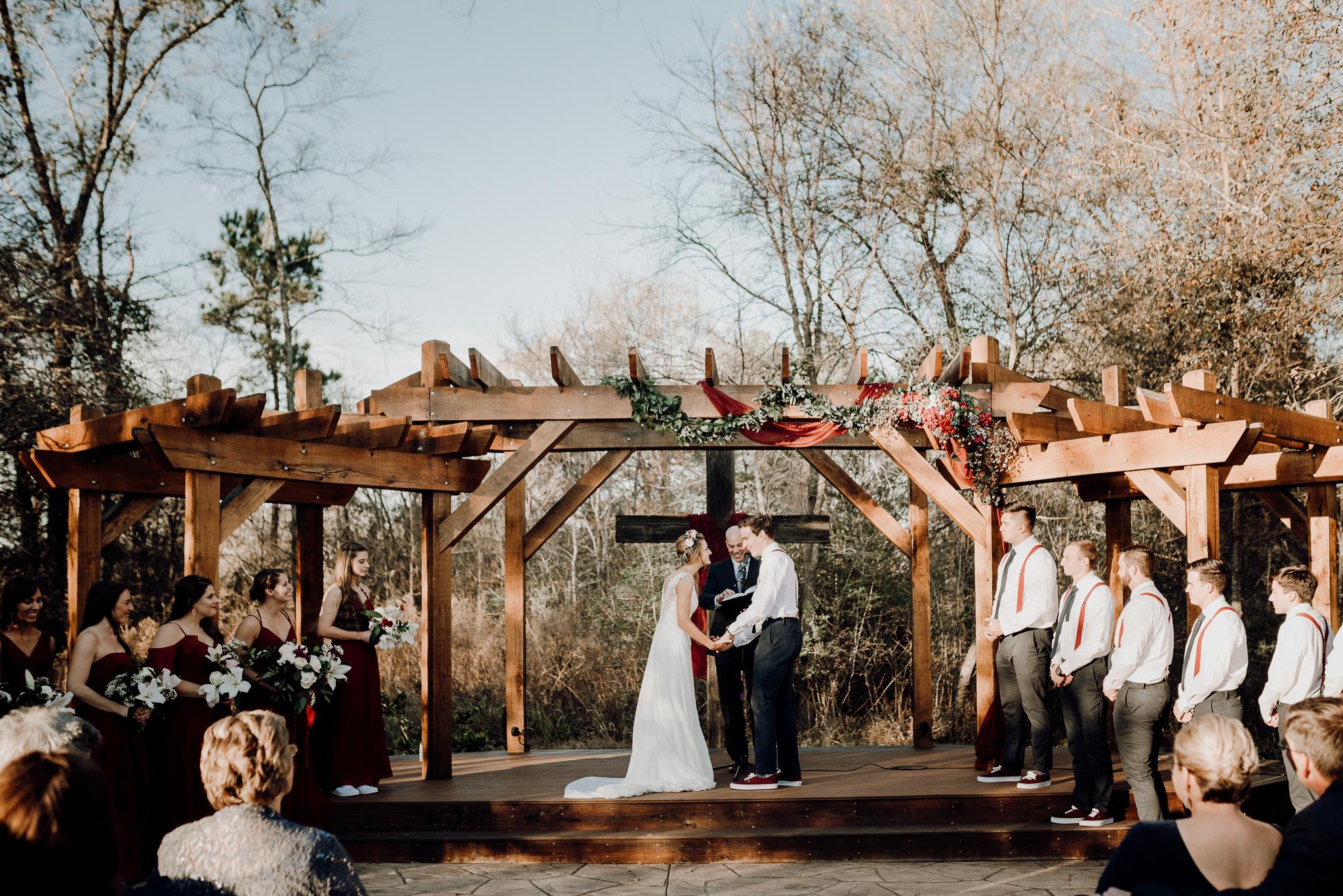 Michelle + Aron-Houston Wedding Photographer-Magnolia Meadows-Winter Wedding | Kristen Giles Photography - 043.jpg