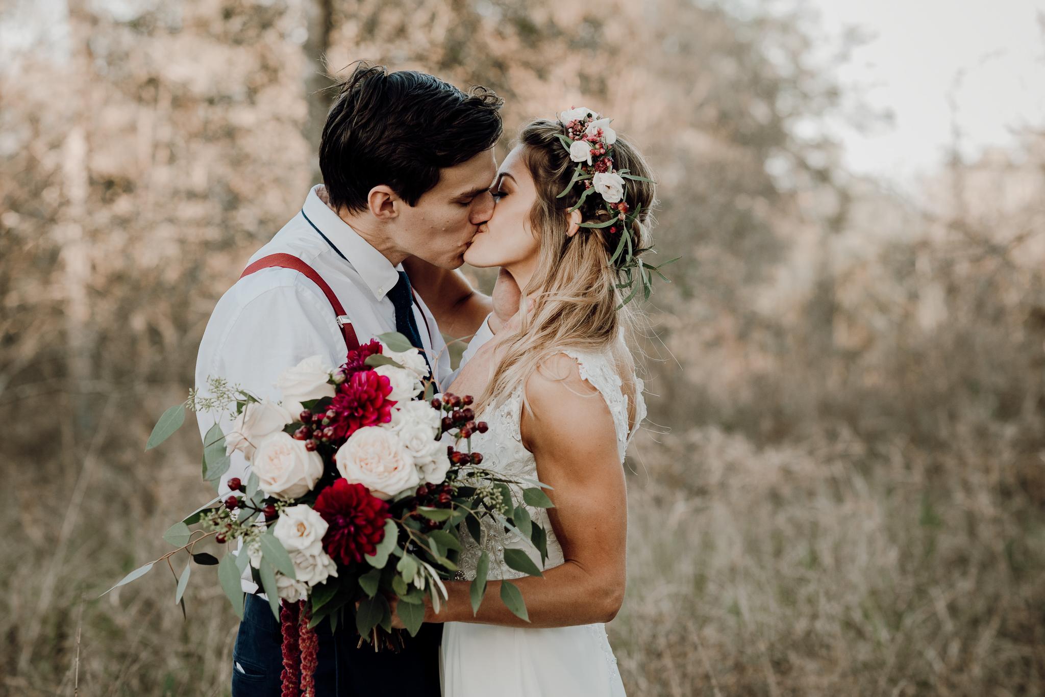 Michelle + Aron-Houston Wedding Photographer-Magnolia Meadows-Winter Wedding | Kristen Giles Photography - 060.jpg