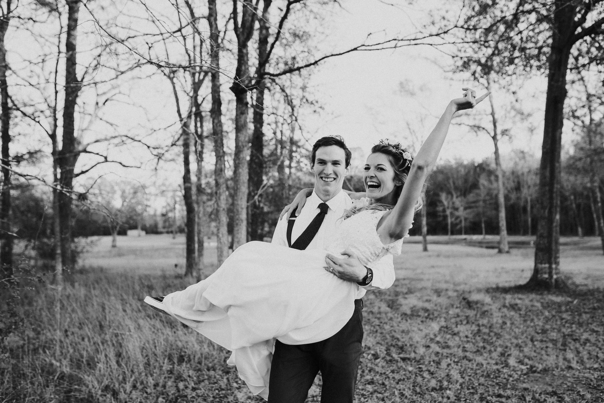 Michelle + Aron-Houston Wedding Photographer-Magnolia Meadows-Winter Wedding | Kristen Giles Photography - 065.jpg