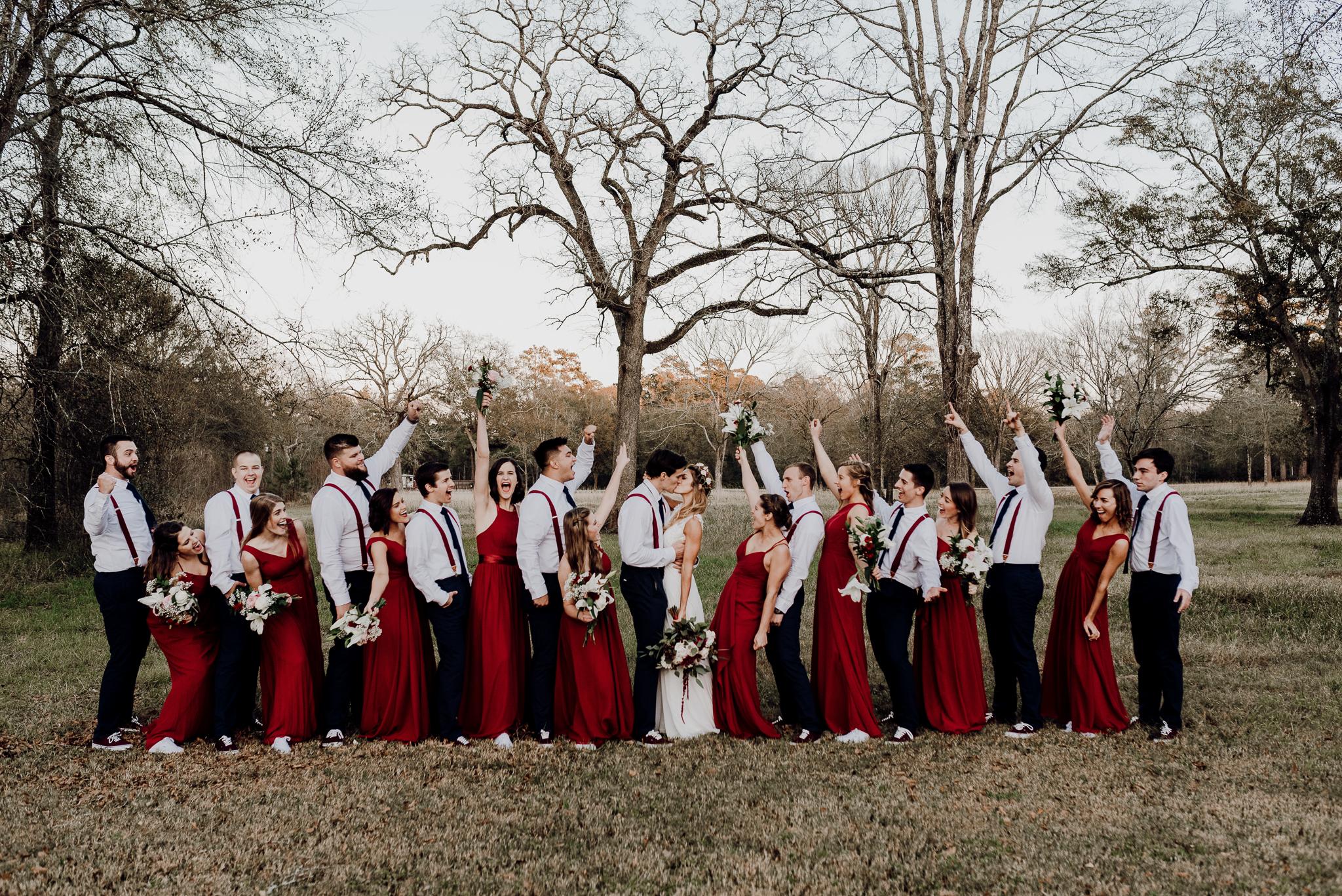 Michelle + Aron-Houston Wedding Photographer-Magnolia Meadows-Winter Wedding | Kristen Giles Photography - 068.jpg