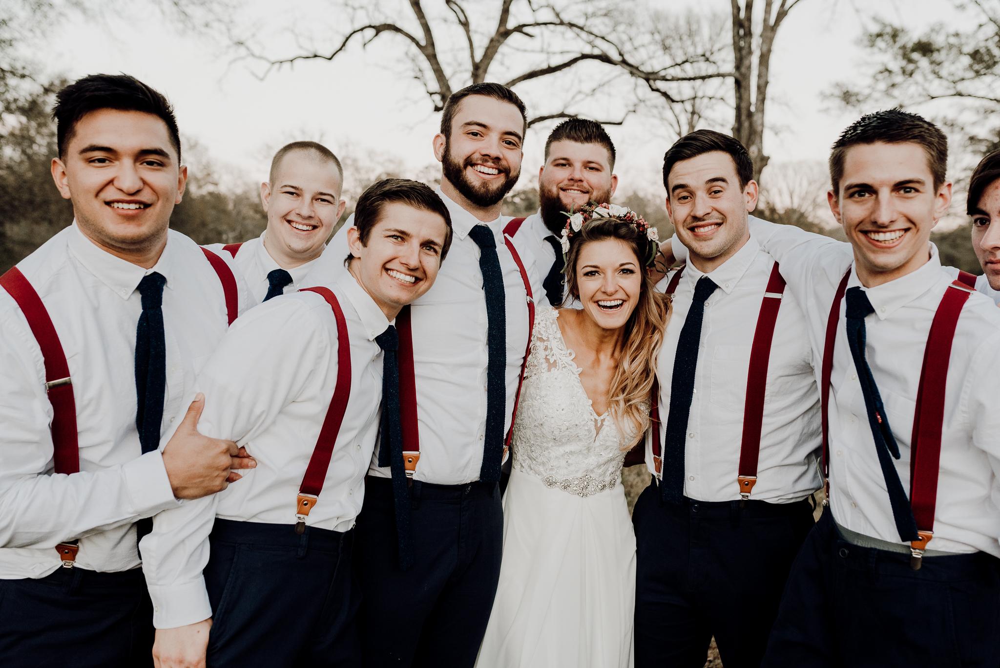 Michelle + Aron-Houston Wedding Photographer-Magnolia Meadows-Winter Wedding | Kristen Giles Photography - 074.jpg