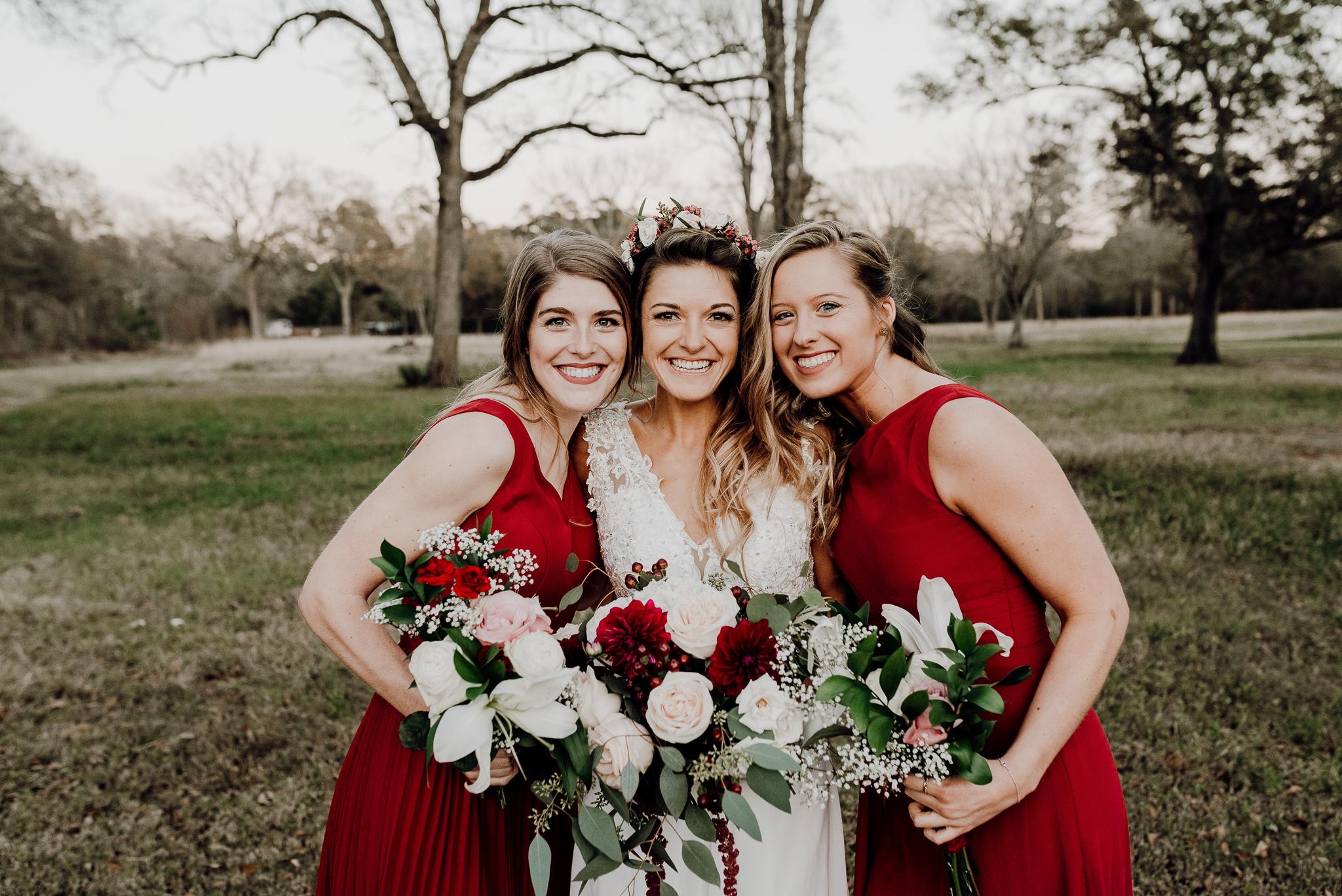 Michelle + Aron-Houston Wedding Photographer-Magnolia Meadows-Winter Wedding | Kristen Giles Photography - 075.jpg