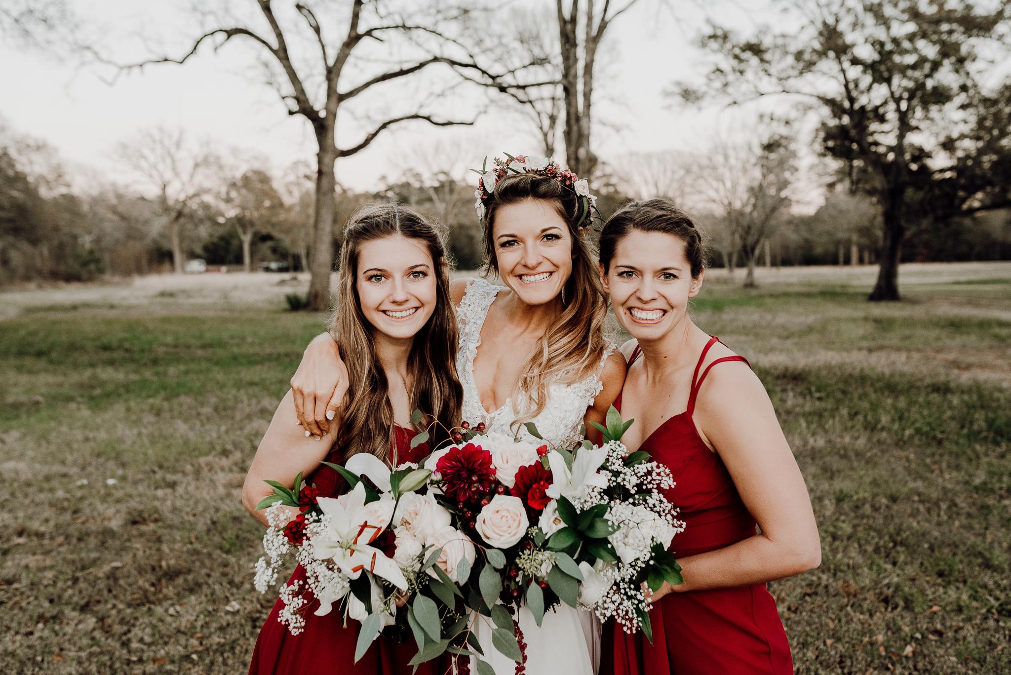 Michelle + Aron-Houston Wedding Photographer-Magnolia Meadows-Winter Wedding | Kristen Giles Photography - 076.jpg