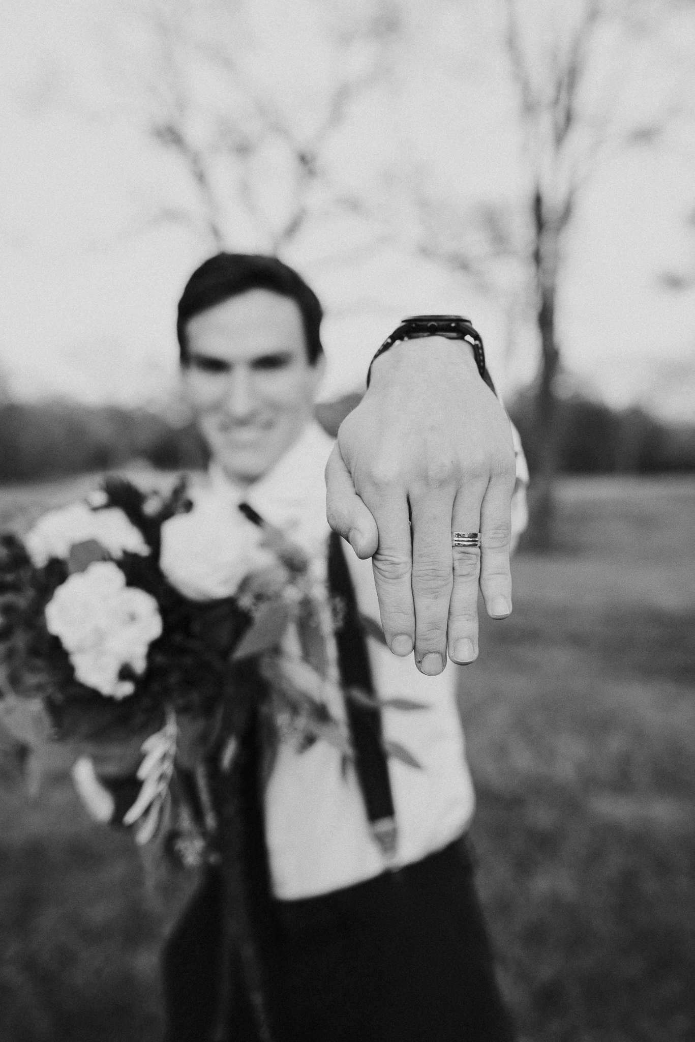 Michelle + Aron-Houston Wedding Photographer-Magnolia Meadows-Winter Wedding | Kristen Giles Photography - 080.jpg