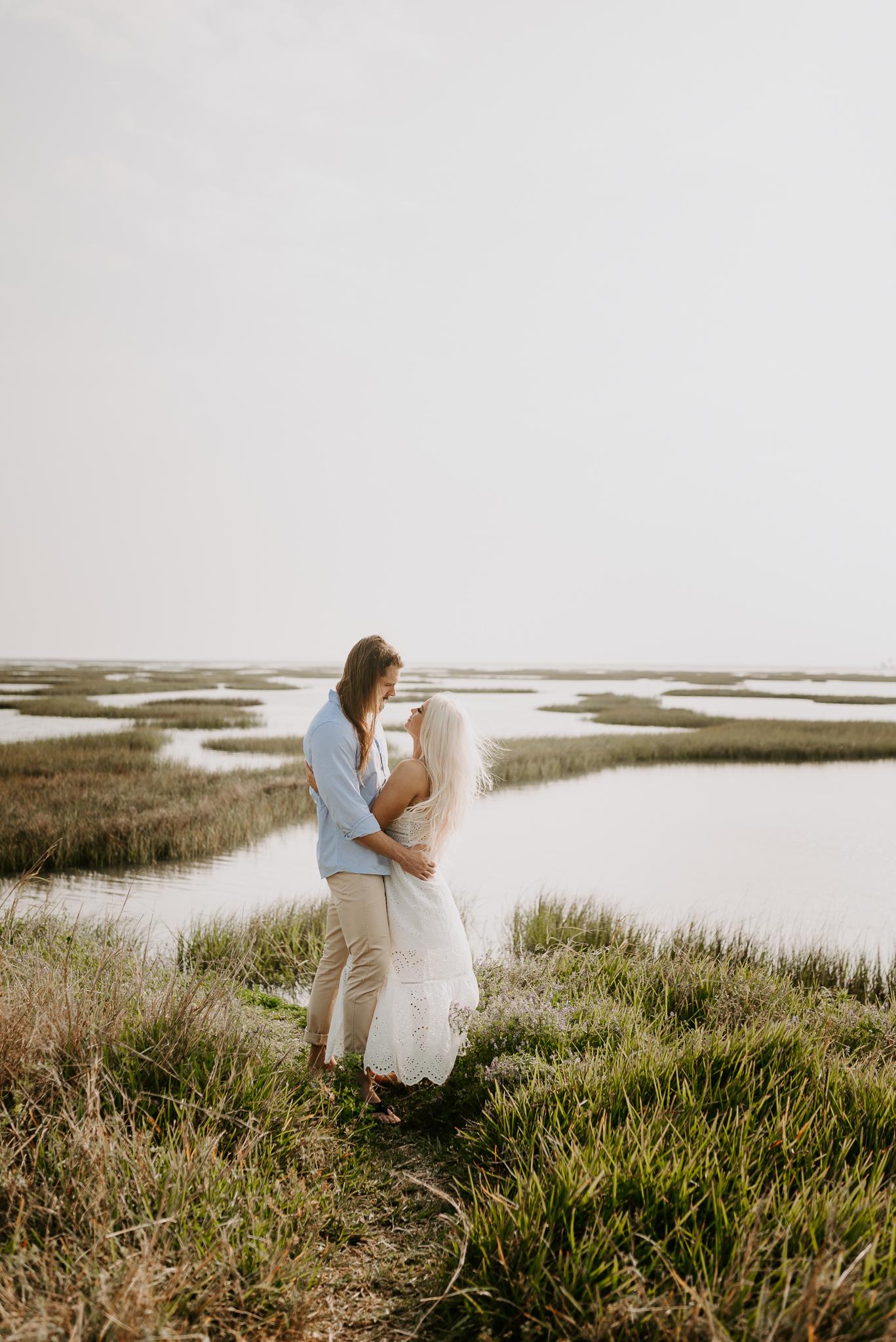 Ashley + Charles - Galveston Texas Moody Engagement Session | Kristen Giles Photography - 006.jpg