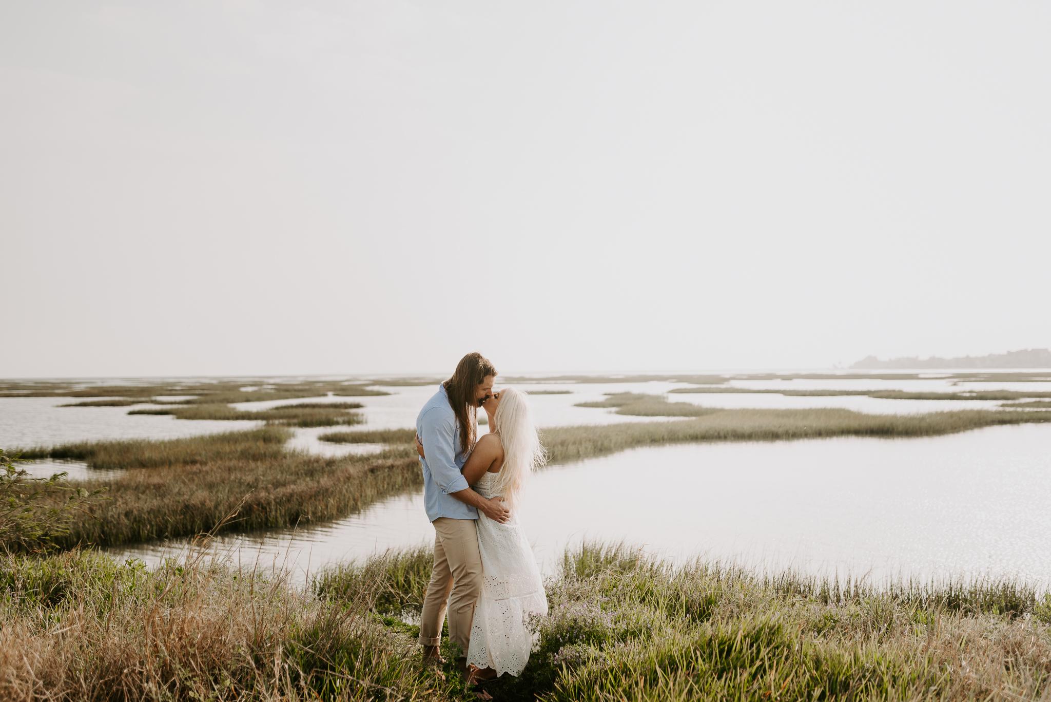 Ashley + Charles - Galveston Texas Moody Engagement Session | Kristen Giles Photography - 007.jpg