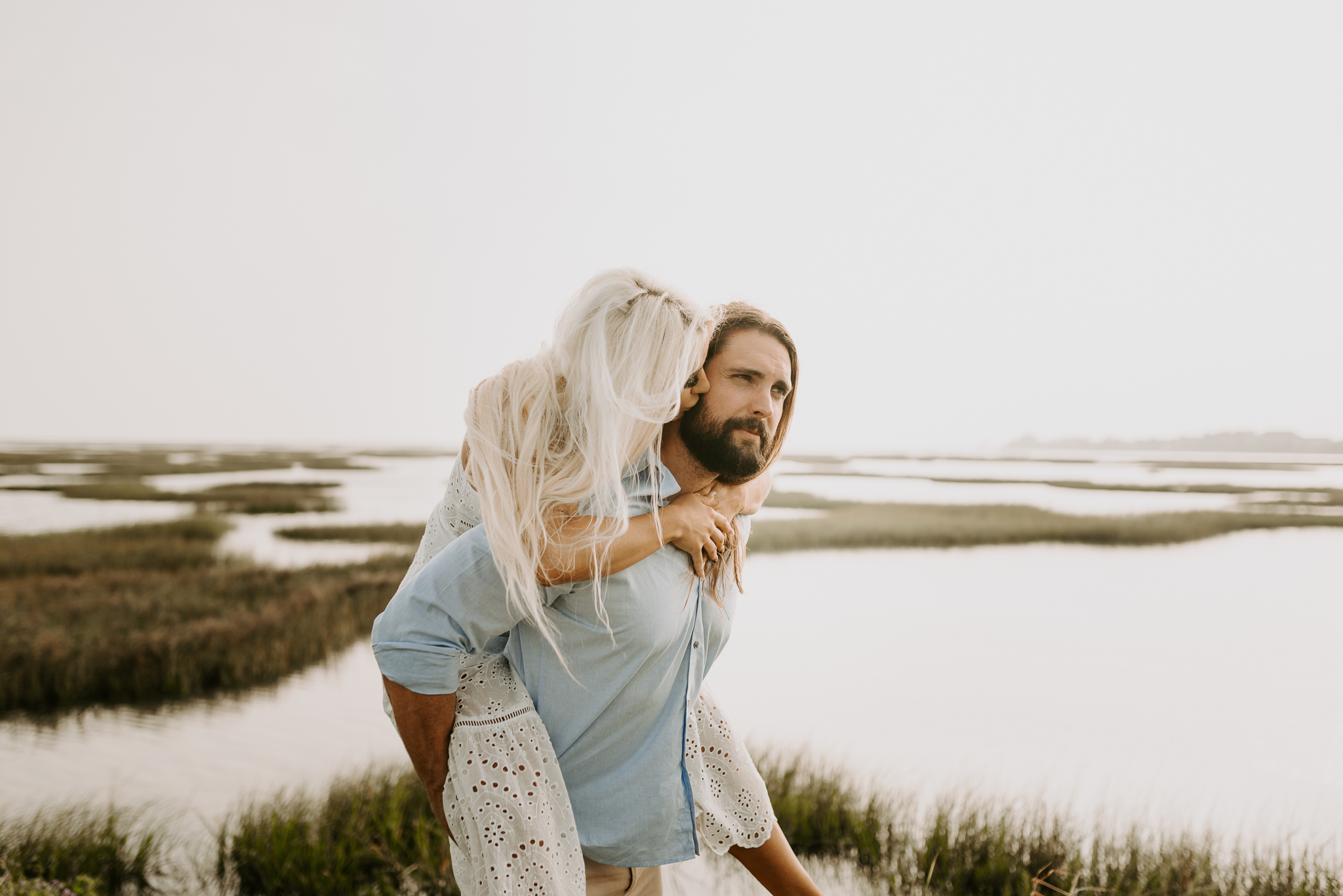 Ashley + Charles - Galveston Texas Moody Engagement Session | Kristen Giles Photography - 013.jpg