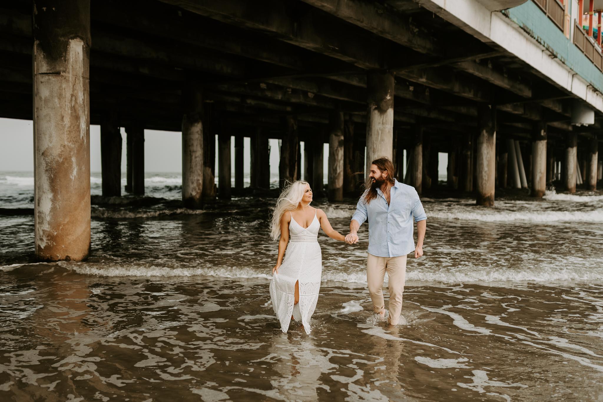 Ashley + Charles - Galveston Texas Moody Engagement Session | Kristen Giles Photography - 015.jpg