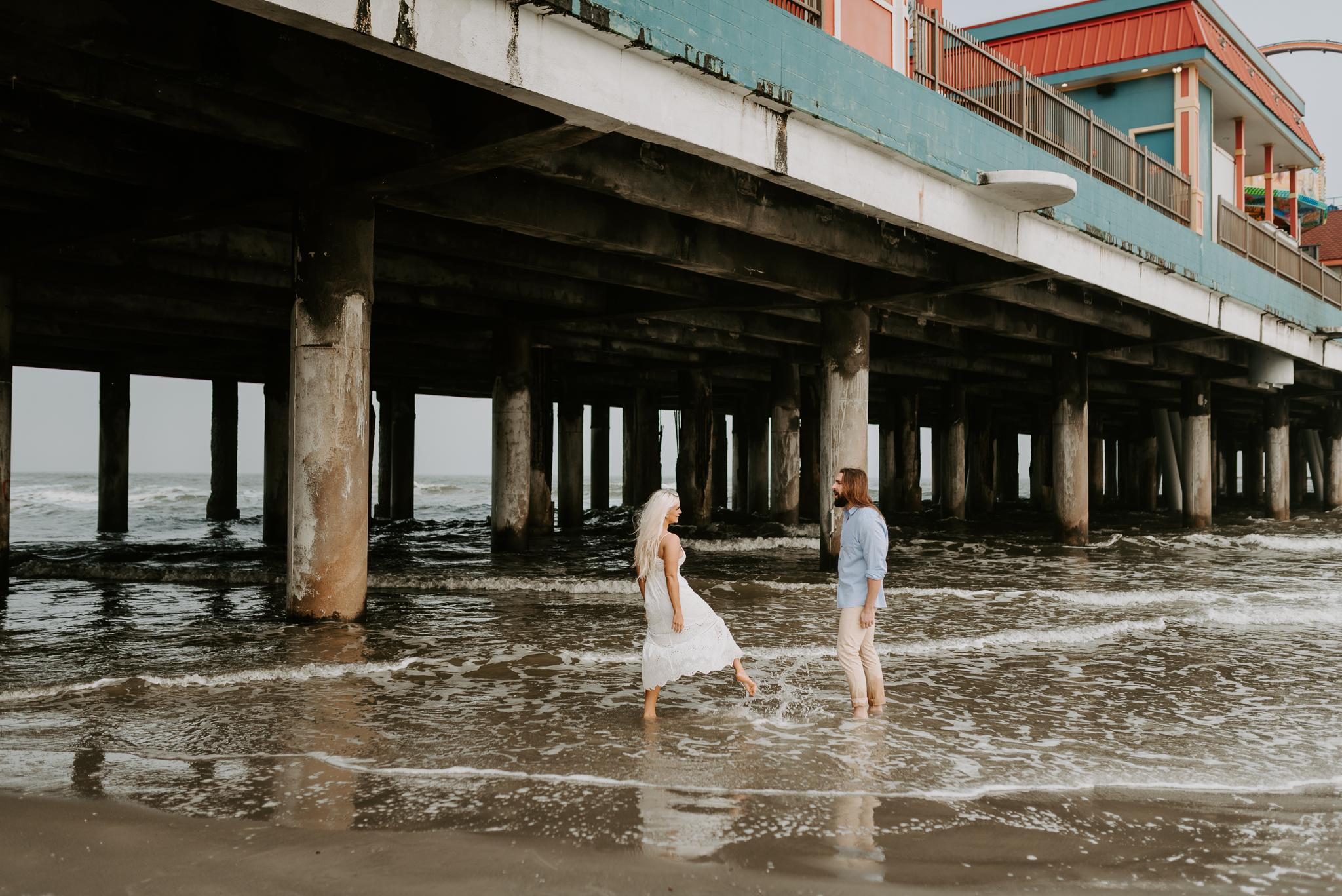 Ashley + Charles - Galveston Texas Moody Engagement Session | Kristen Giles Photography - 019.jpg