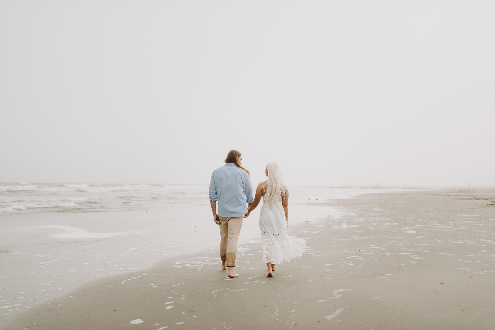 Ashley + Charles - Galveston Texas Moody Engagement Session | Kristen Giles Photography - 023.jpg