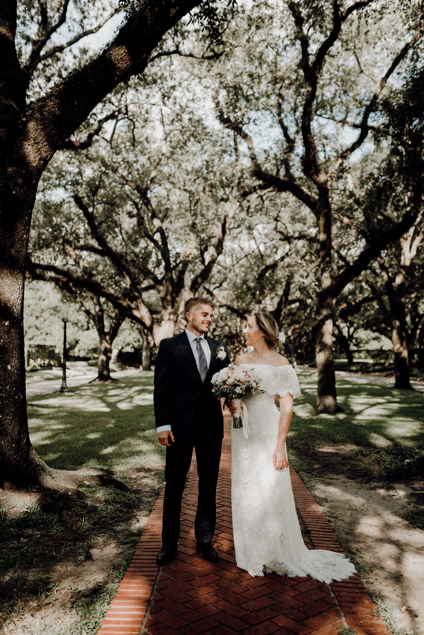 Houston Wedding Photographer-North Blvd Intimate Elopement- Houston Wedding Photographer -Kristen Giles Photography-2.jpg