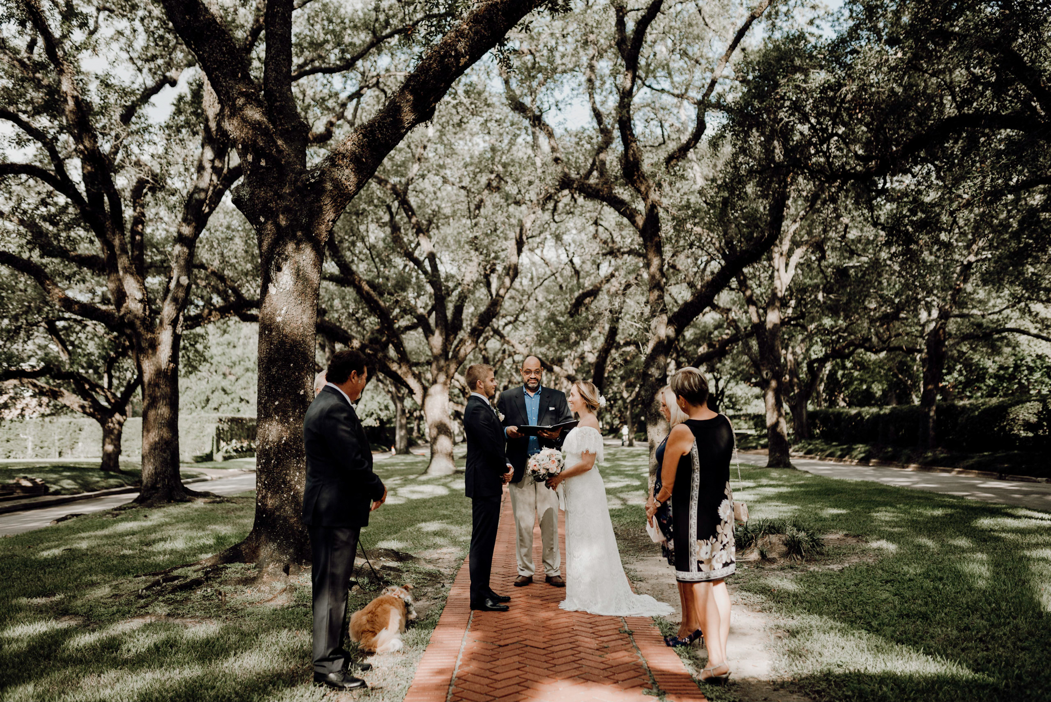 Houston Wedding Photographer-North Blvd Intimate Elopement- Houston Wedding Photographer -Kristen Giles Photography-5.jpg