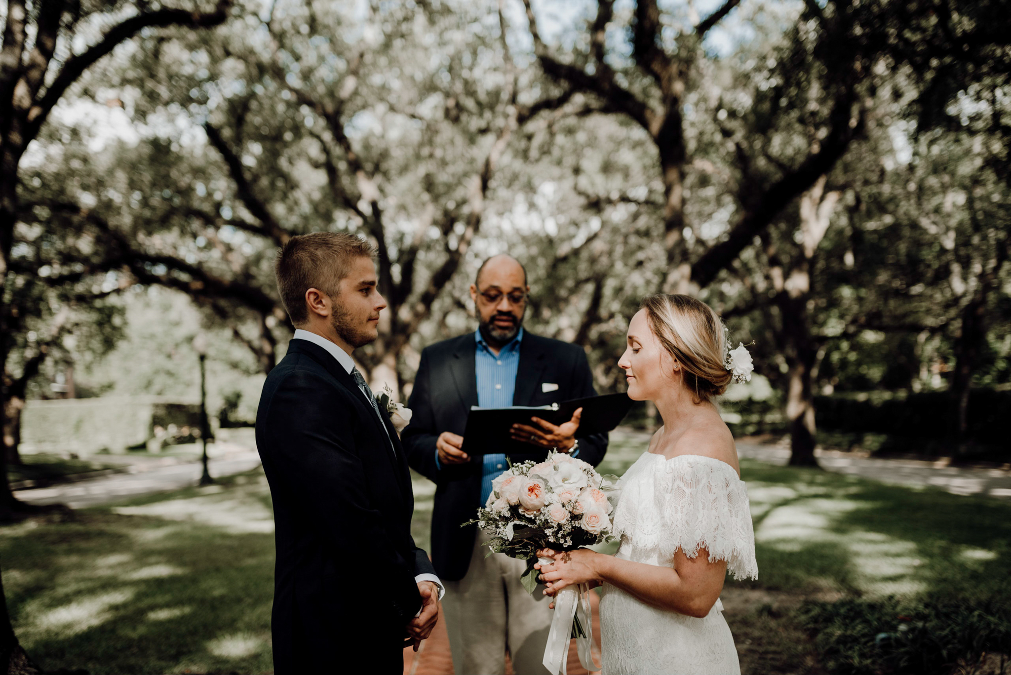 Houston Wedding Photographer-North Blvd Intimate Elopement- Houston Wedding Photographer -Kristen Giles Photography-12.jpg