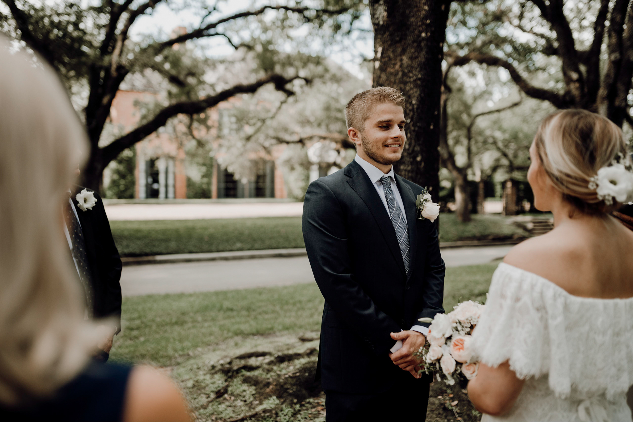 Houston Wedding Photographer-North Blvd Intimate Elopement- Houston Wedding Photographer -Kristen Giles Photography-17.jpg