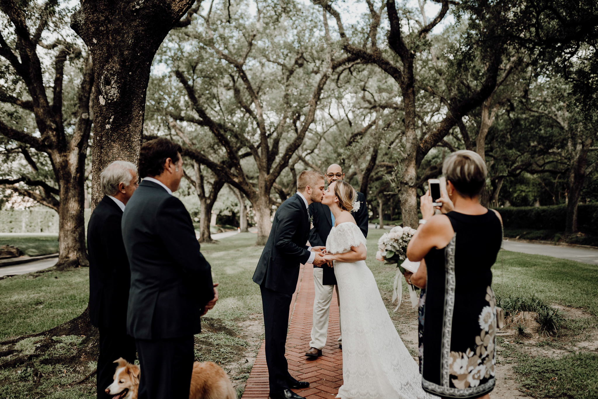 Houston Wedding Photographer-North Blvd Intimate Elopement- Houston Wedding Photographer -Kristen Giles Photography-34.jpg