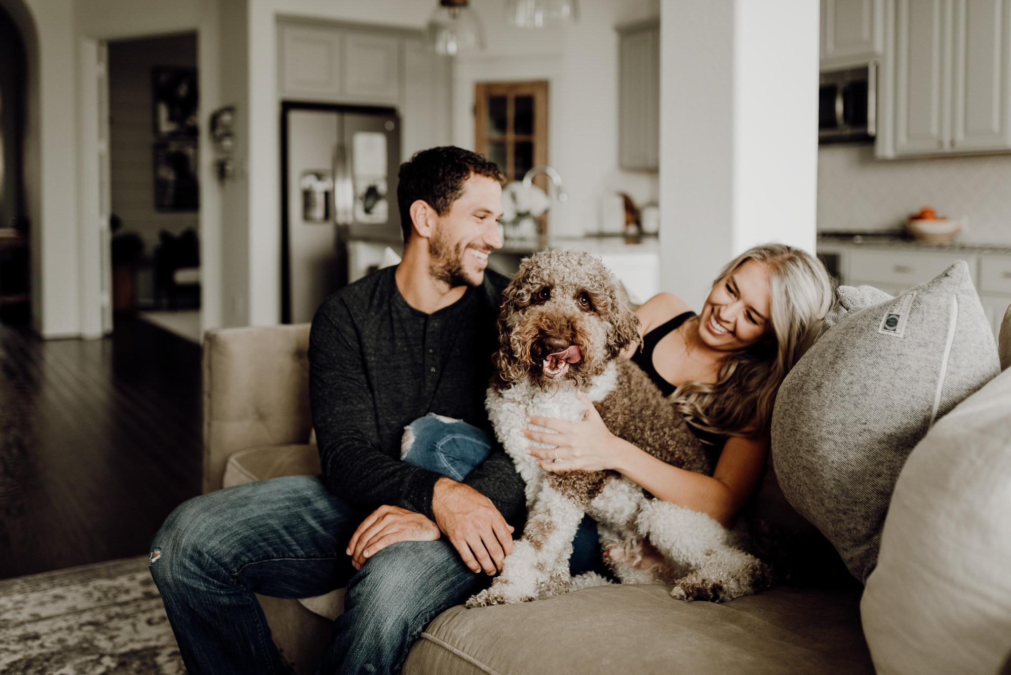 Houston Wedding Photographer-Houston In Home Engagement Session- Houston Wedding Photographer -Kristen Giles Photography-5.jpg
