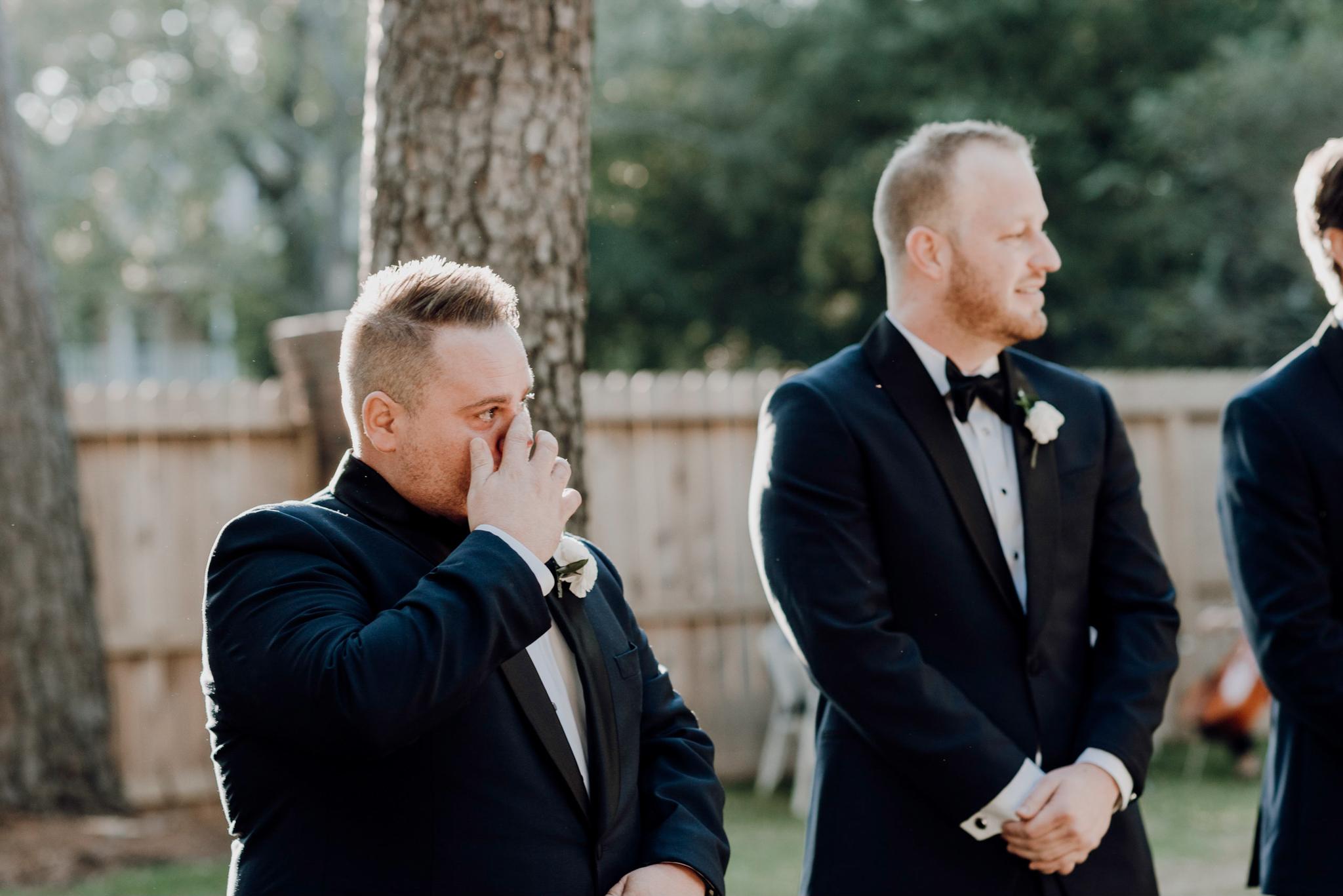 Houston Wedding Photographer-Intimate Texas Backyard Wedding- Houston Wedding Photographer -Kristen Giles Photography-36.jpg