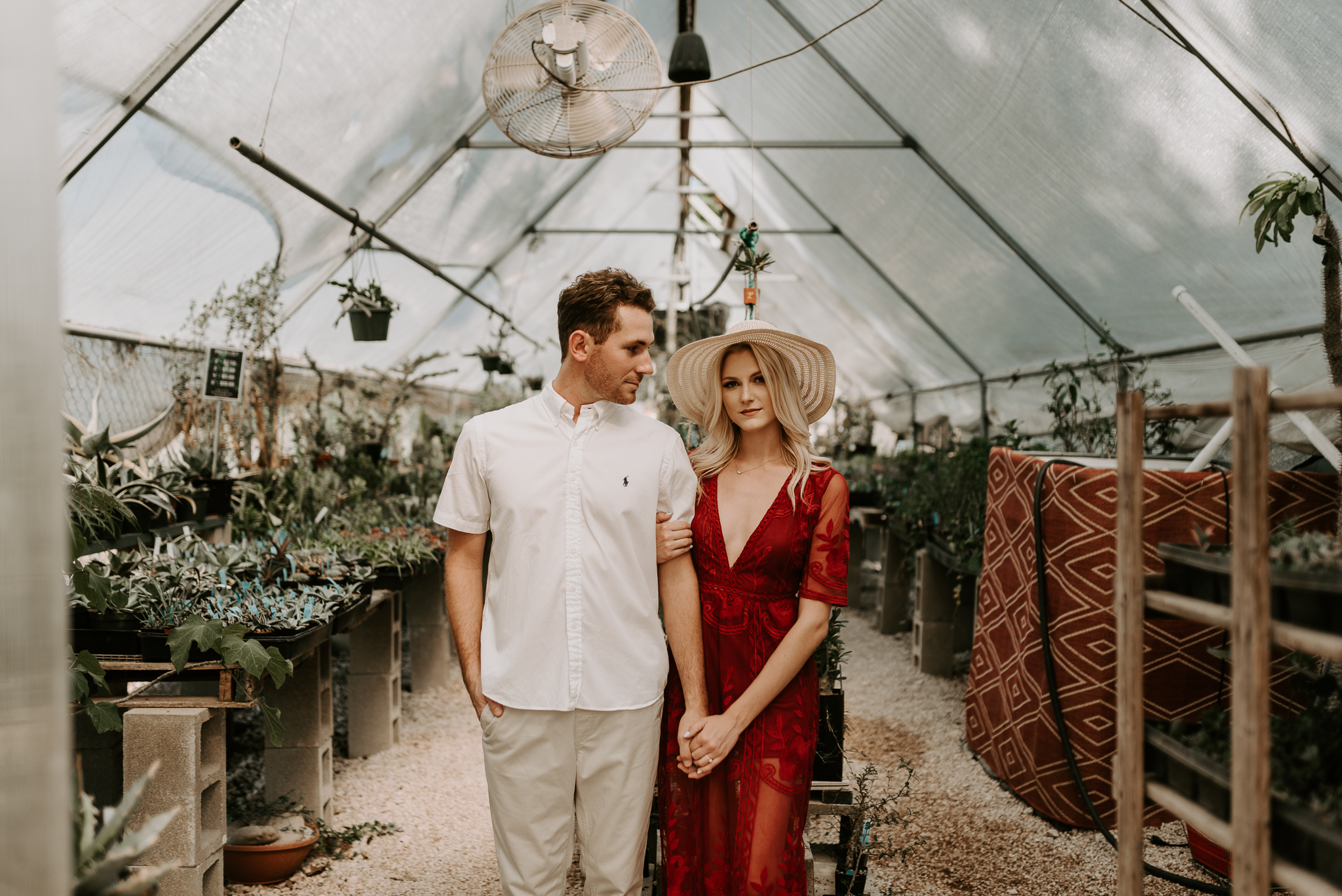 kristen giles photography | texas wedding photographer - austin plant shop engagement session-3-blog.jpg