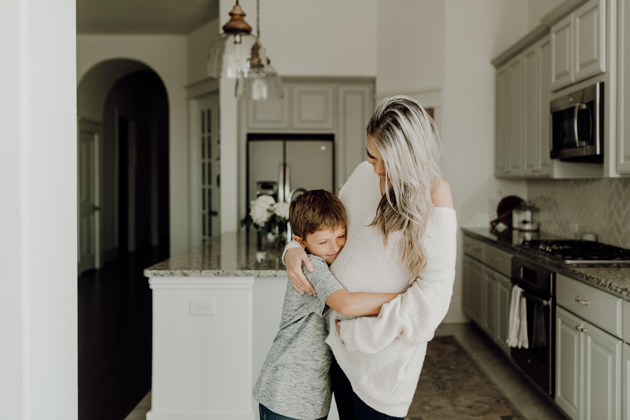 houston-wedding-photographer-in-home-maternity-session-puppies- Houston Wedding Photographer -Kristen Giles Photography-29.jpg