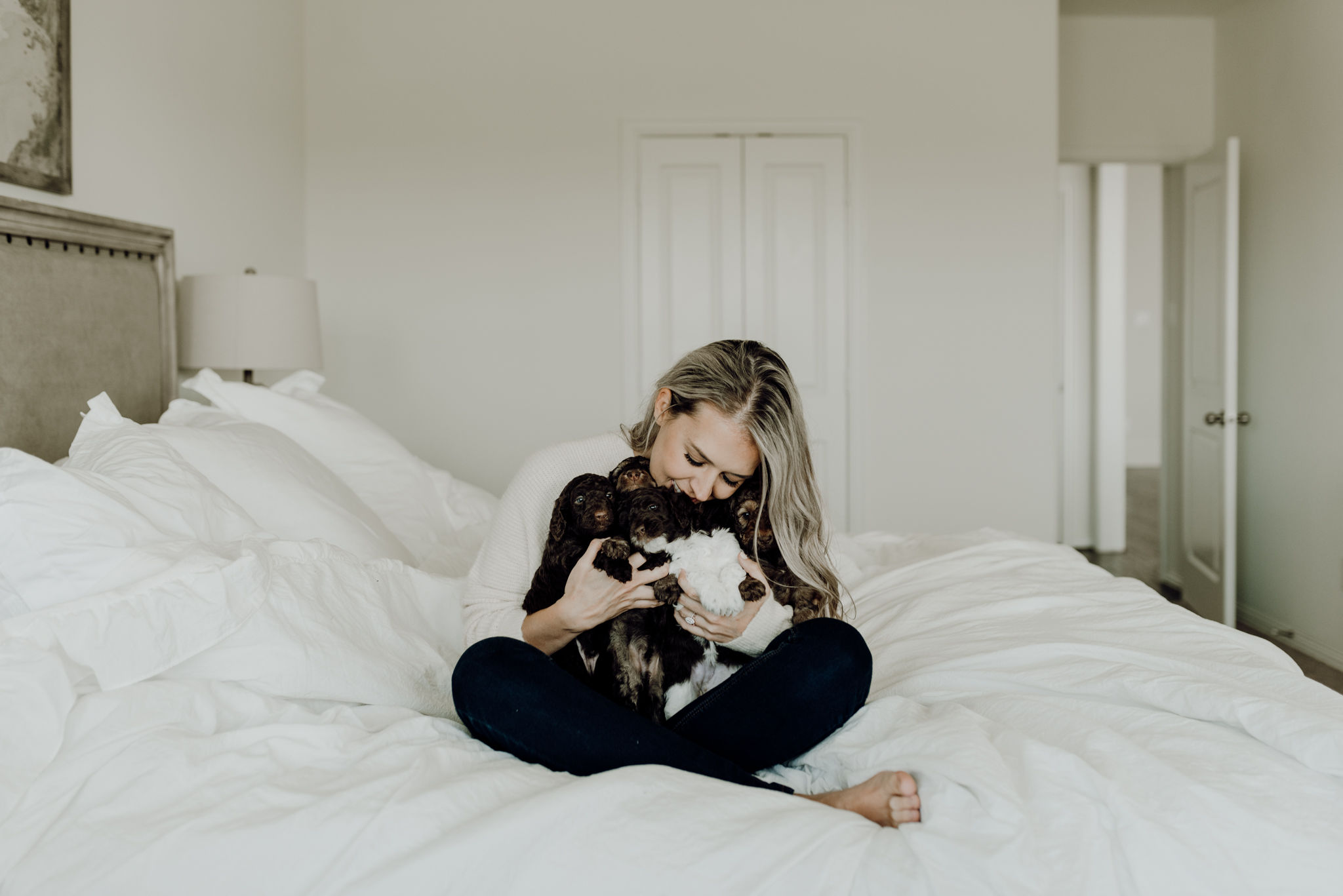 houston-wedding-photographer-in-home-maternity-session-puppies- Houston Wedding Photographer -Kristen Giles Photography-60.jpg