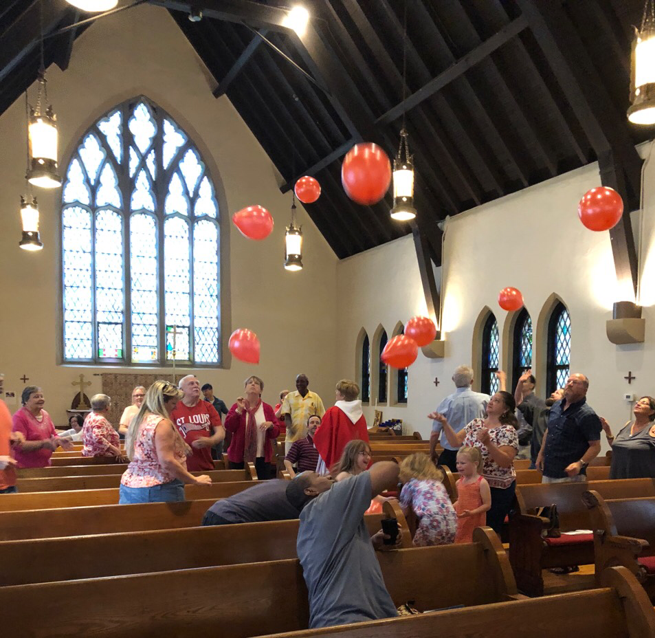 ballonsinchurch