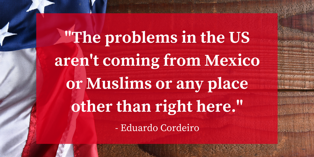 The problems in the United States are not coming from Mexico or Muslims or any place other than right here..png