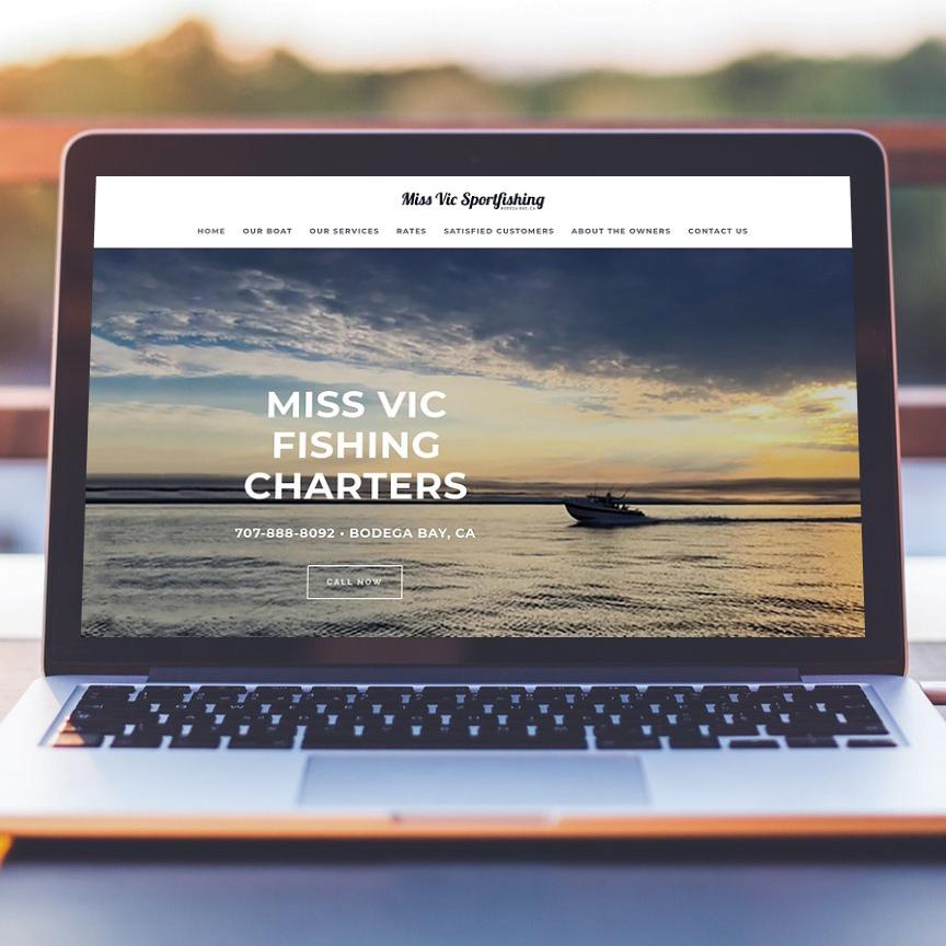 Miss Vic Sportfishing Website